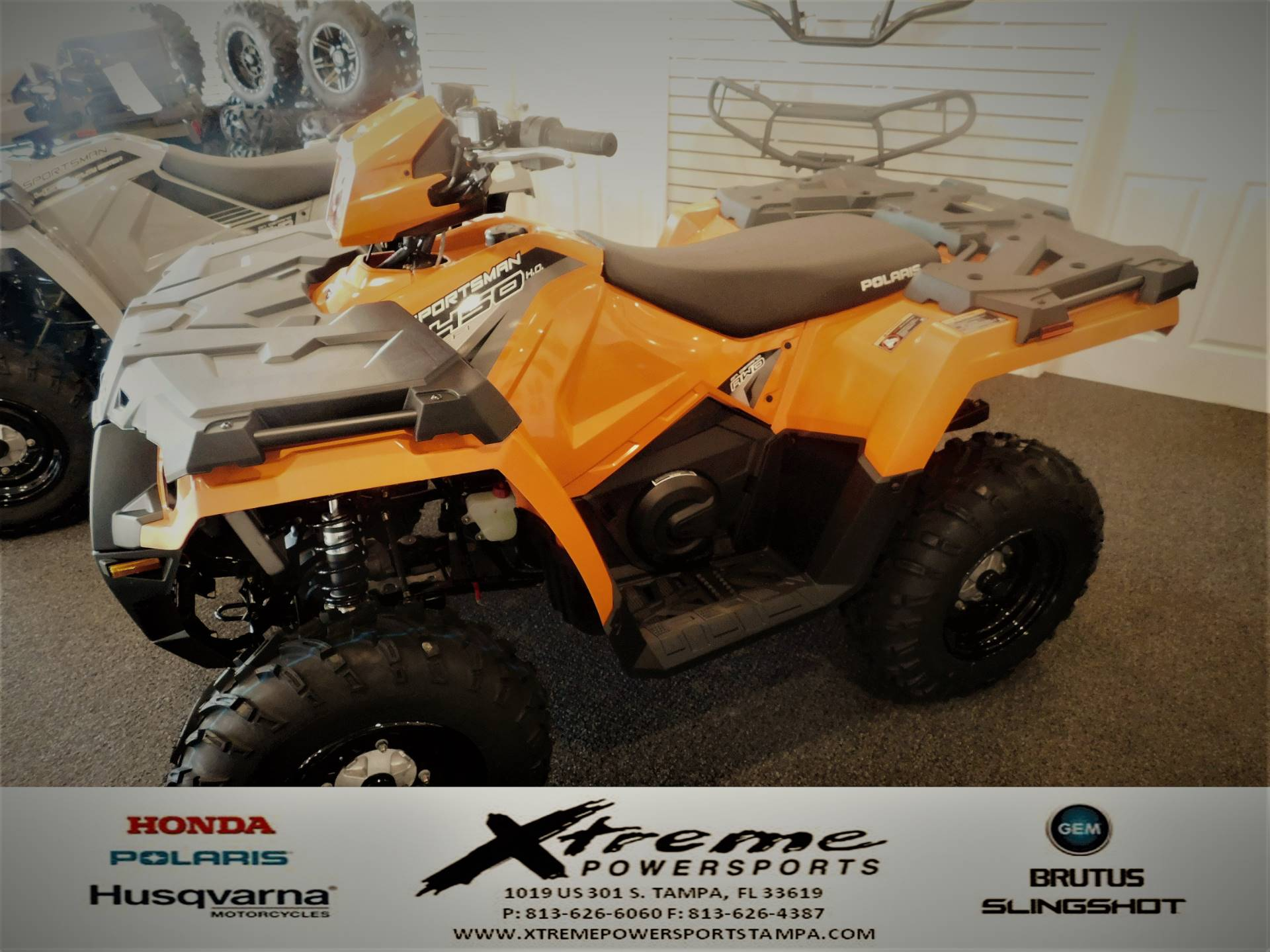 2019 Polaris SPORTSMAN H.O. EPS LE in Tampa, Florida