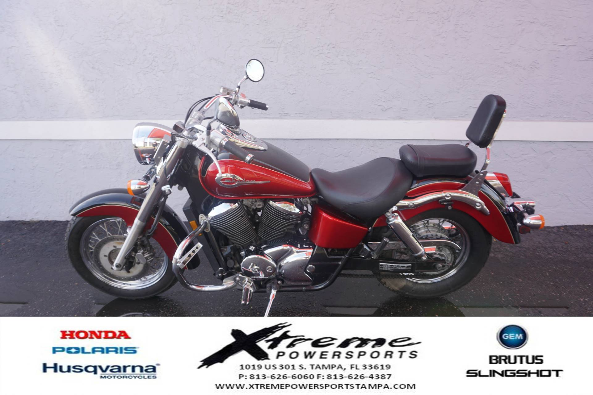 2003 Honda SHADOW ACE DLX in Tampa, Florida - Photo 1