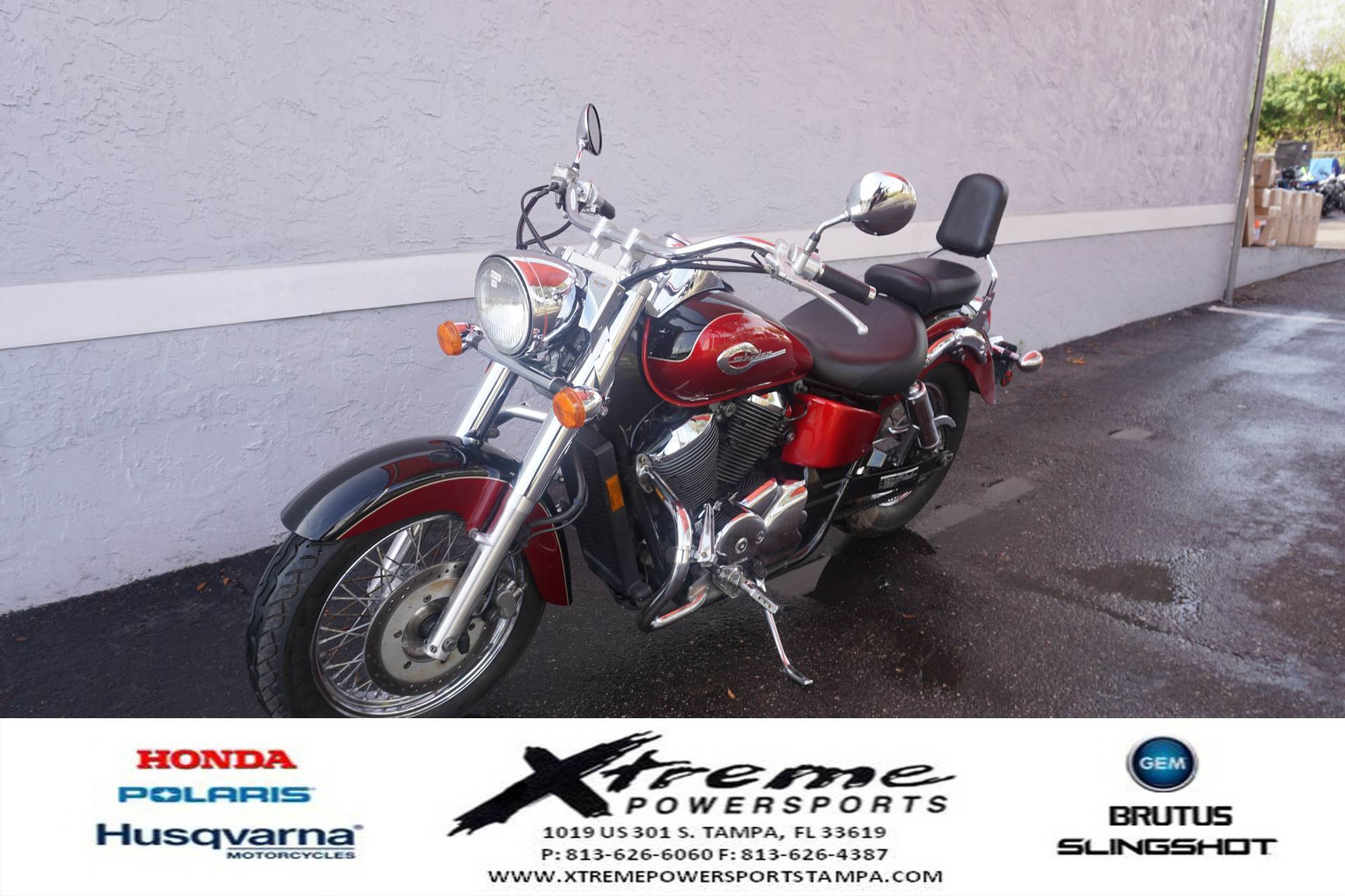 2003 Honda SHADOW ACE DLX in Tampa, Florida - Photo 2