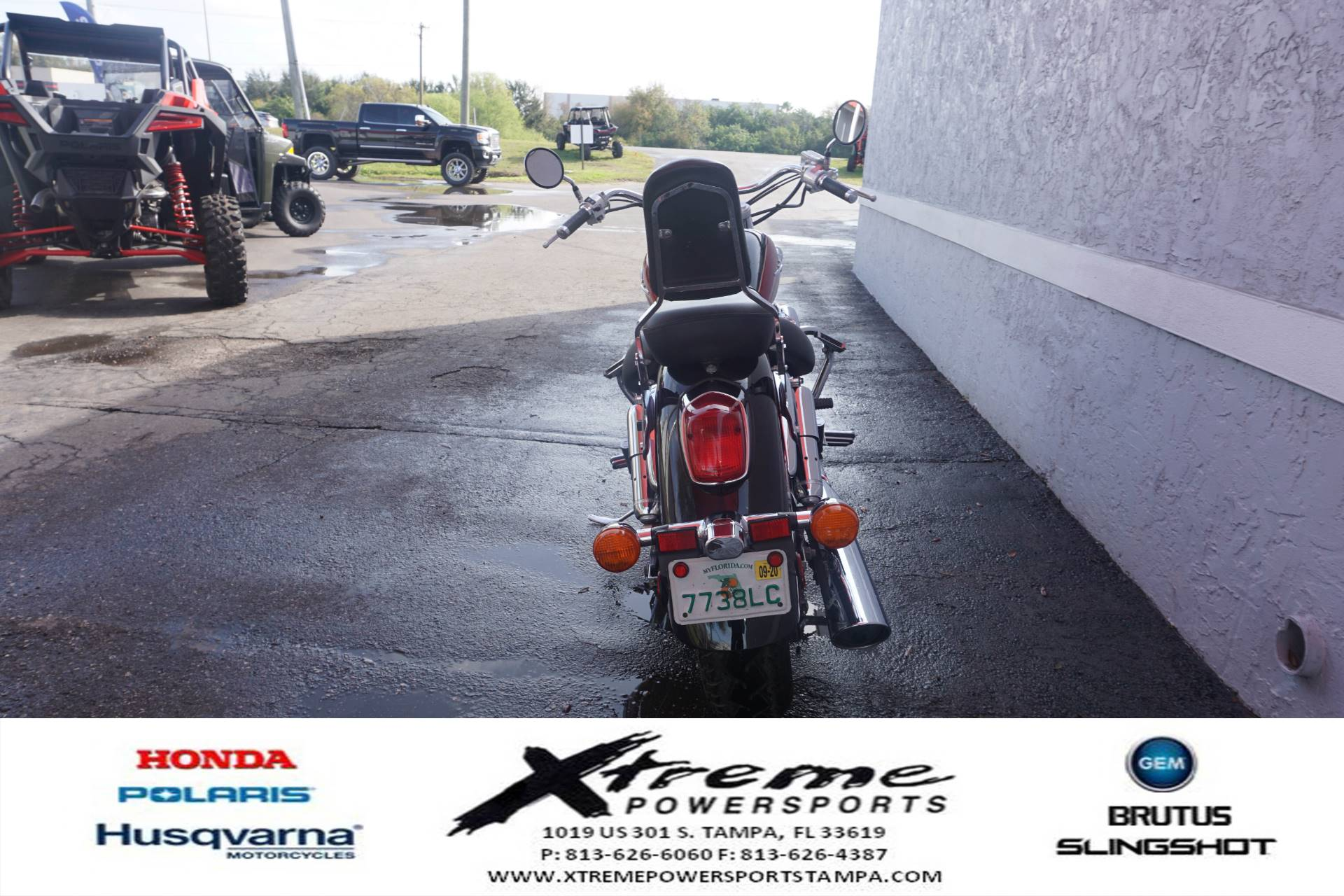 2003 Honda SHADOW ACE DLX in Tampa, Florida - Photo 4