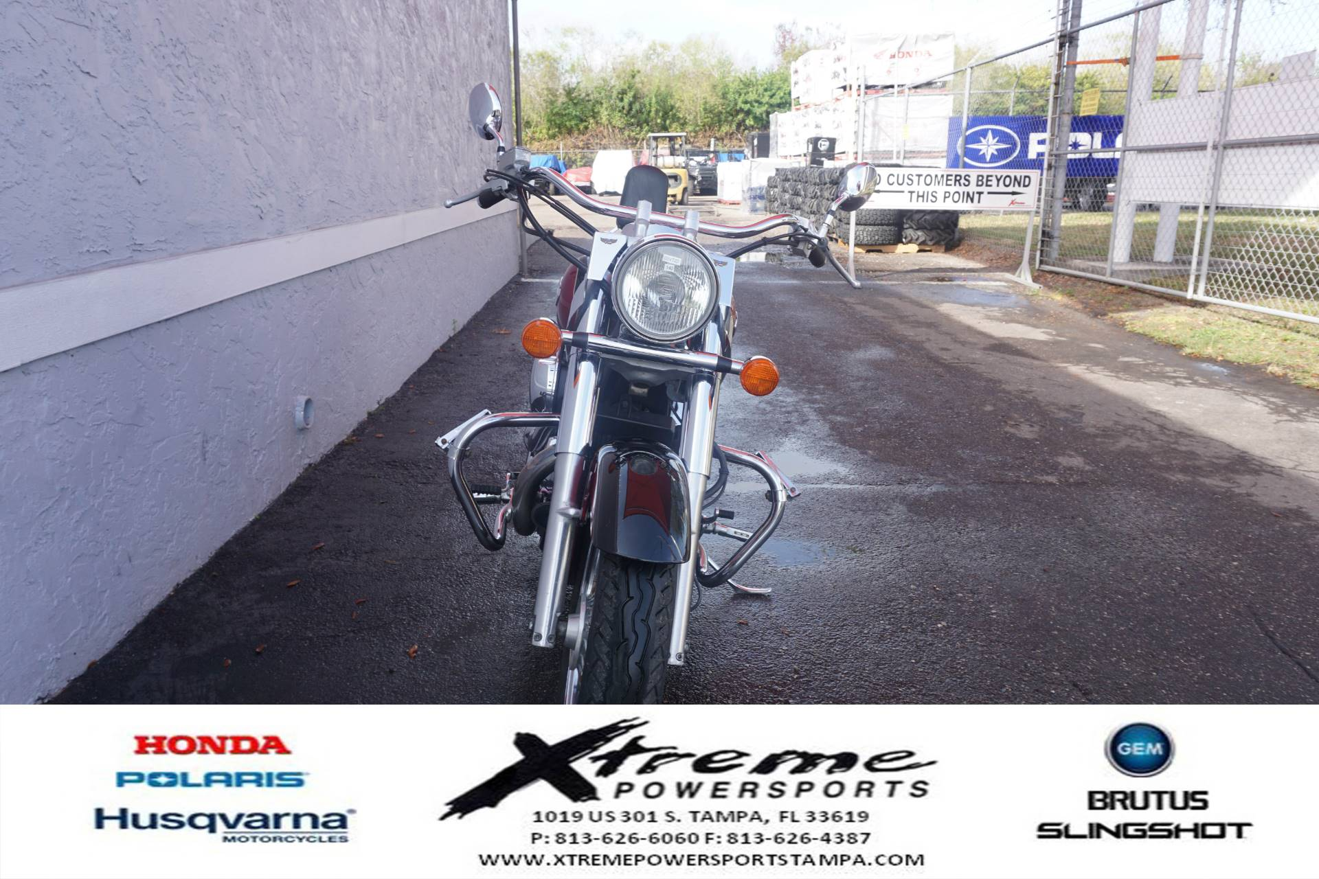 2003 Honda SHADOW ACE DLX in Tampa, Florida - Photo 5