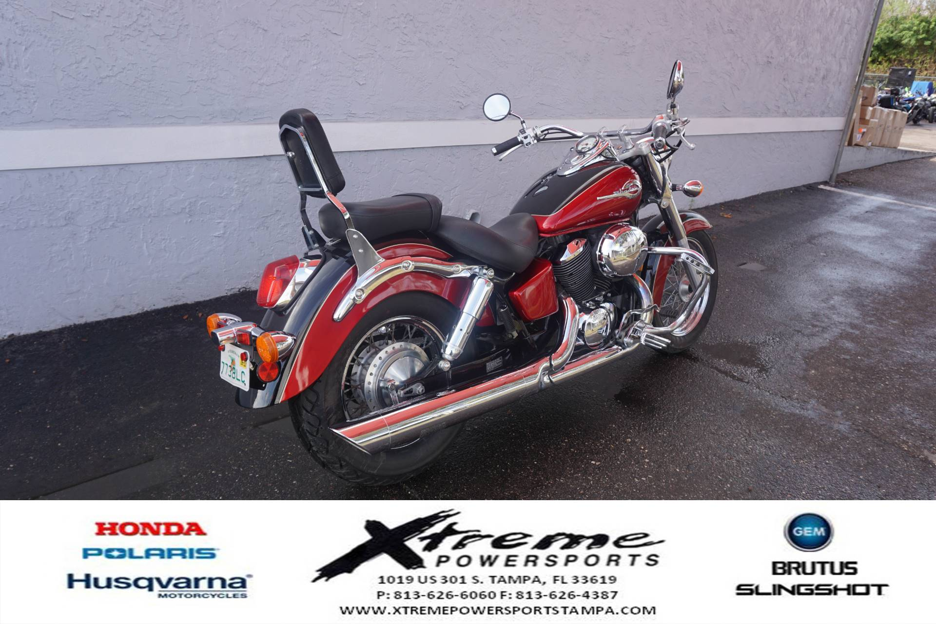 2003 Honda SHADOW ACE DLX in Tampa, Florida - Photo 7