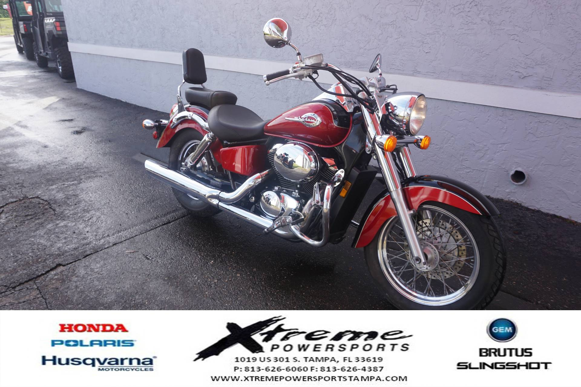 2003 Honda SHADOW ACE DLX in Tampa, Florida - Photo 8