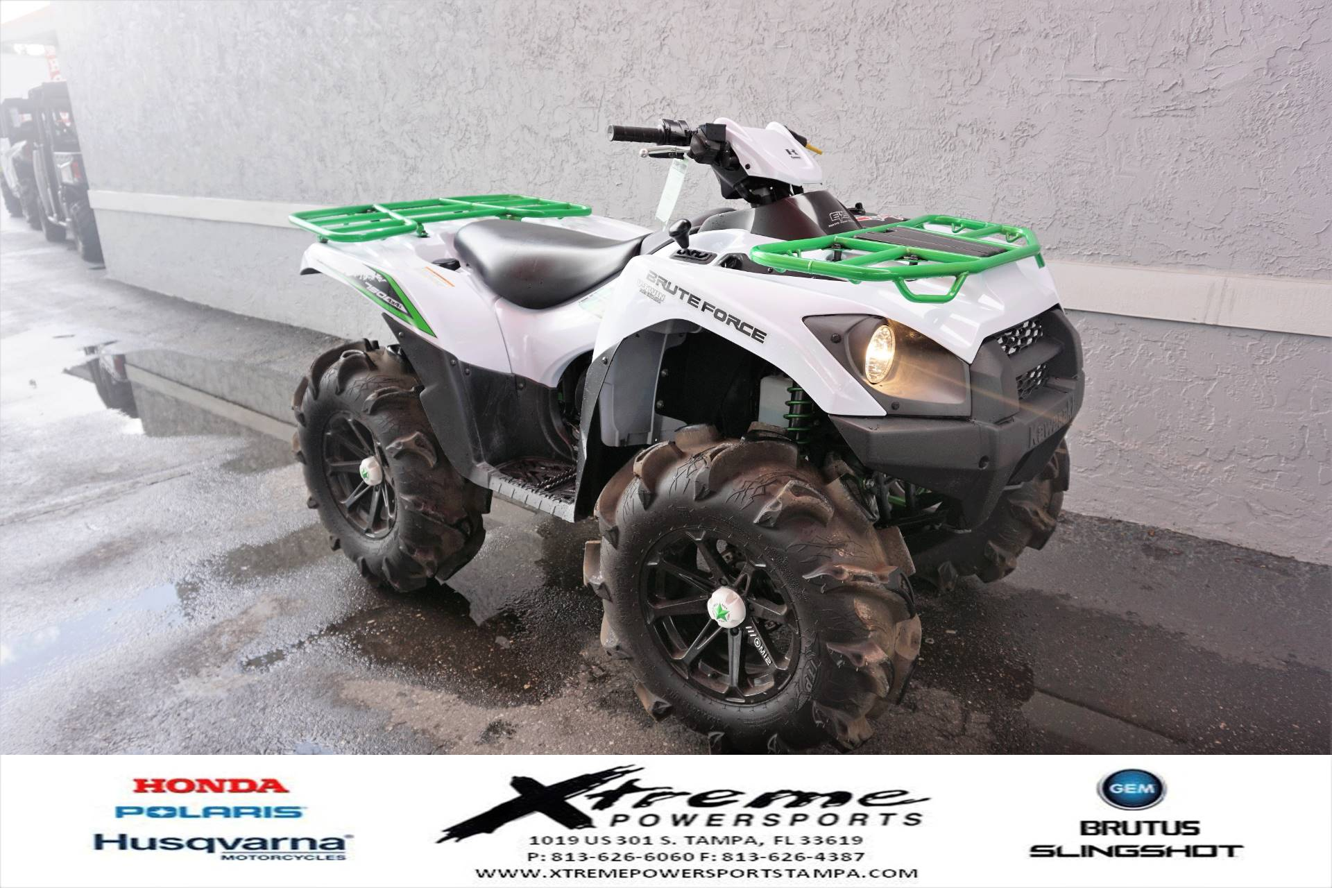 2018 Kawasaki Brute Force 750 4x4i EPS in Tampa, Florida - Photo 3