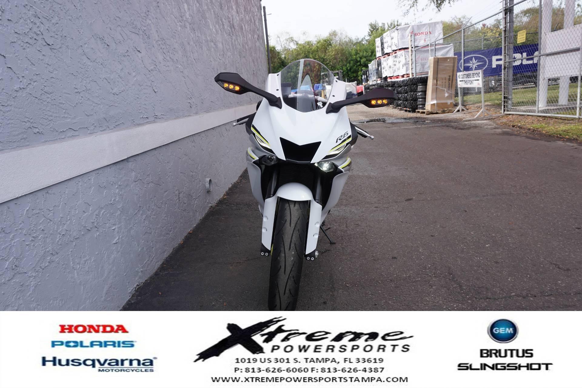 2017 Yamaha YZF-R6 5