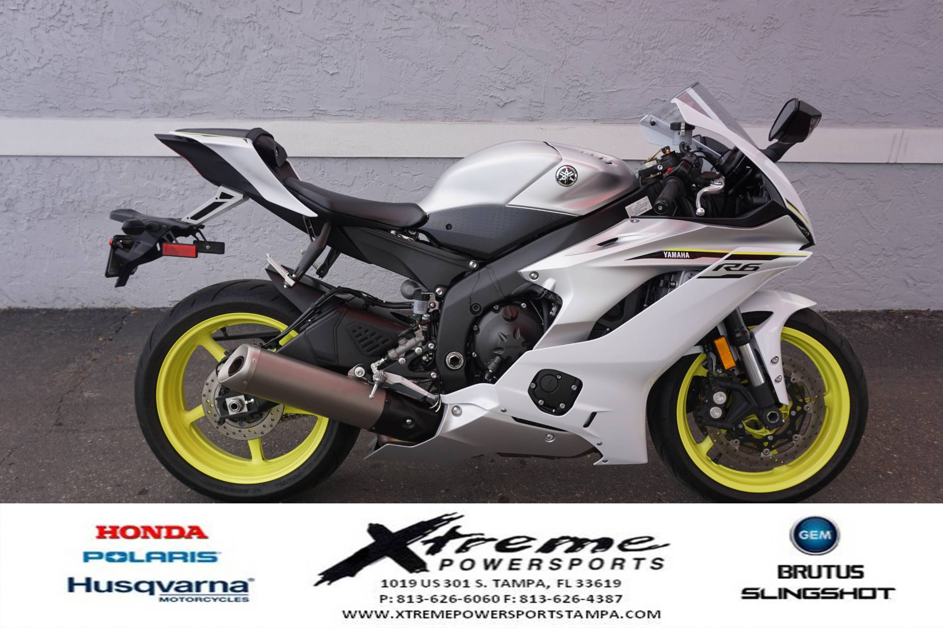 2017 Yamaha YZF-R6 6