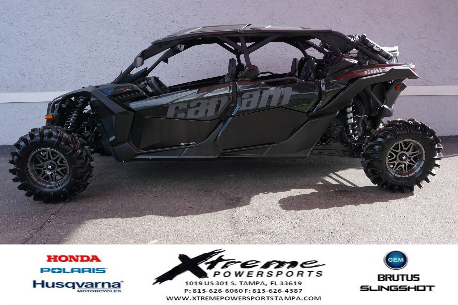 2017 Can-Am MAVERICK X3 TURBO MAX XRS in Tampa, Florida - Photo 1
