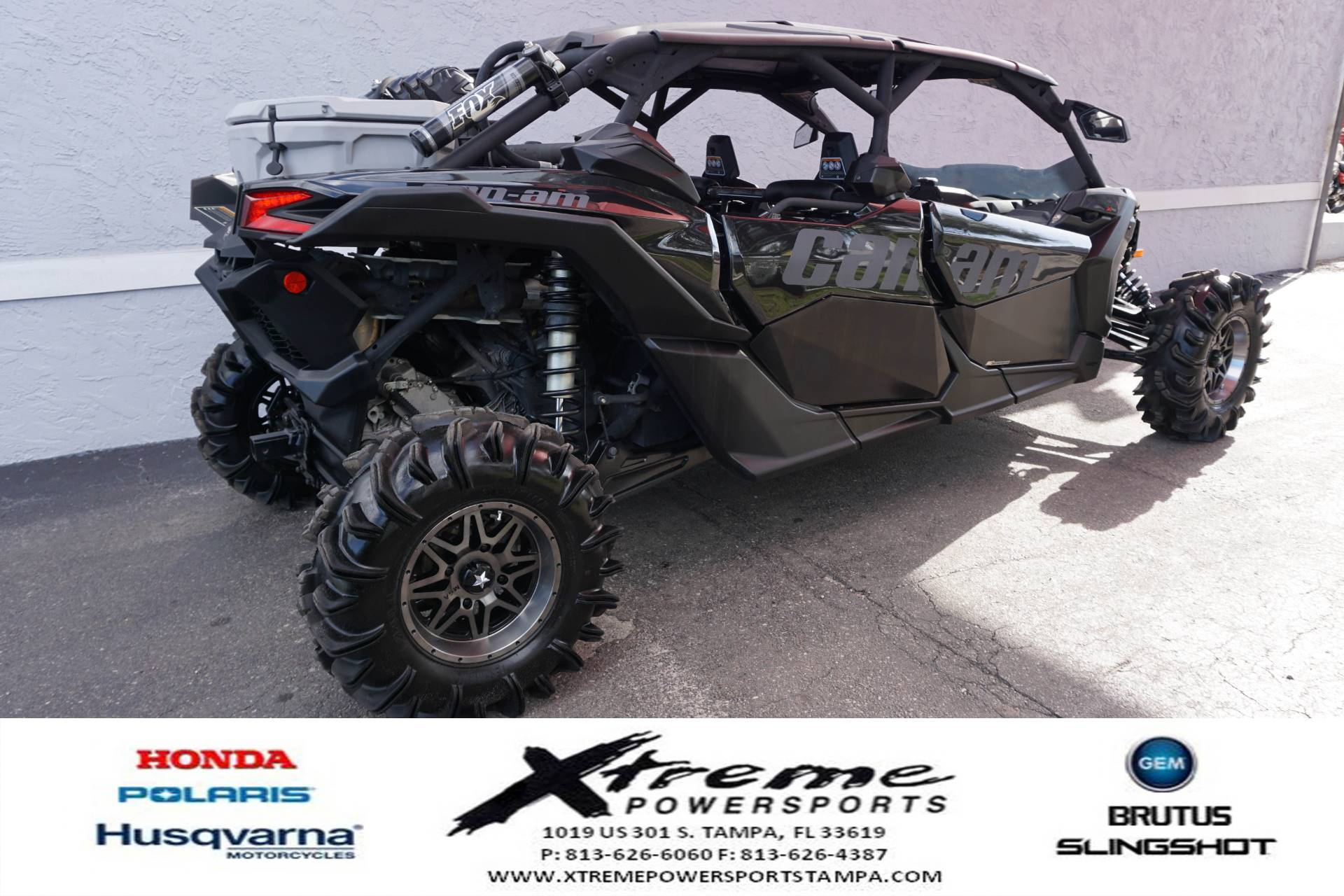 2017 Can-Am MAVERICK X3 TURBO MAX XRS in Tampa, Florida - Photo 7