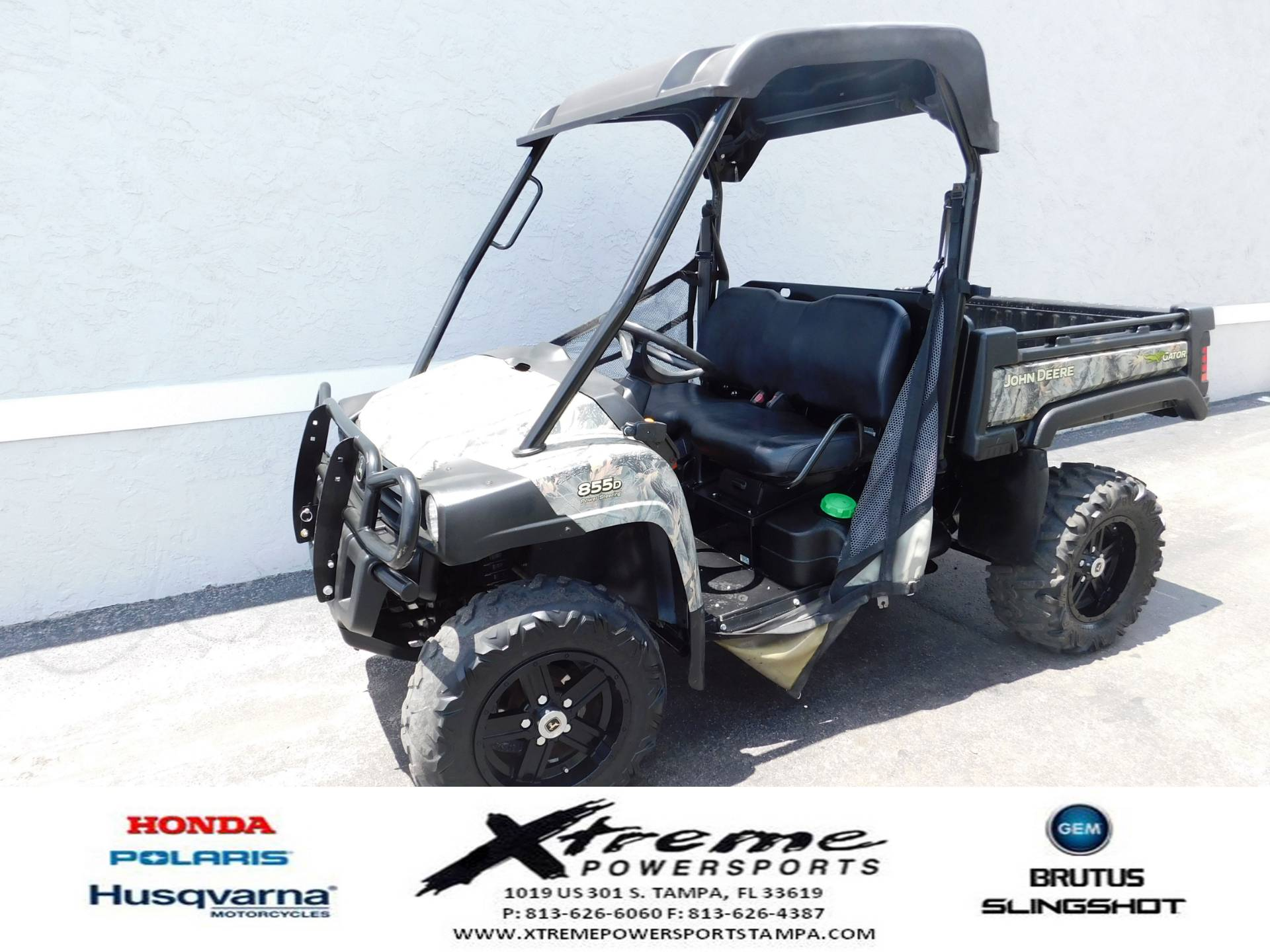 2015 John Deere Gator™ XUV 855D Power Steering in Tampa, Florida