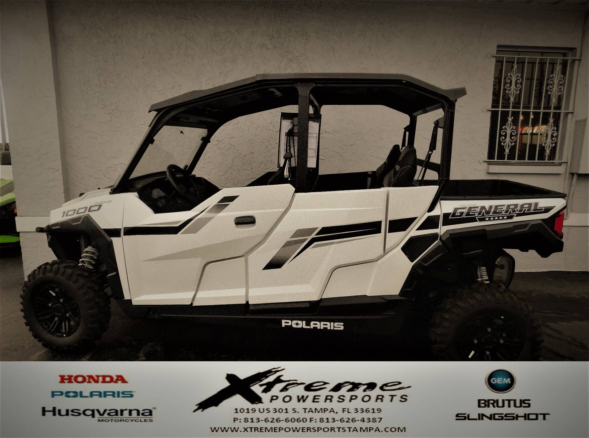 2019 Polaris GENERAL 1000-4 in Tampa, Florida