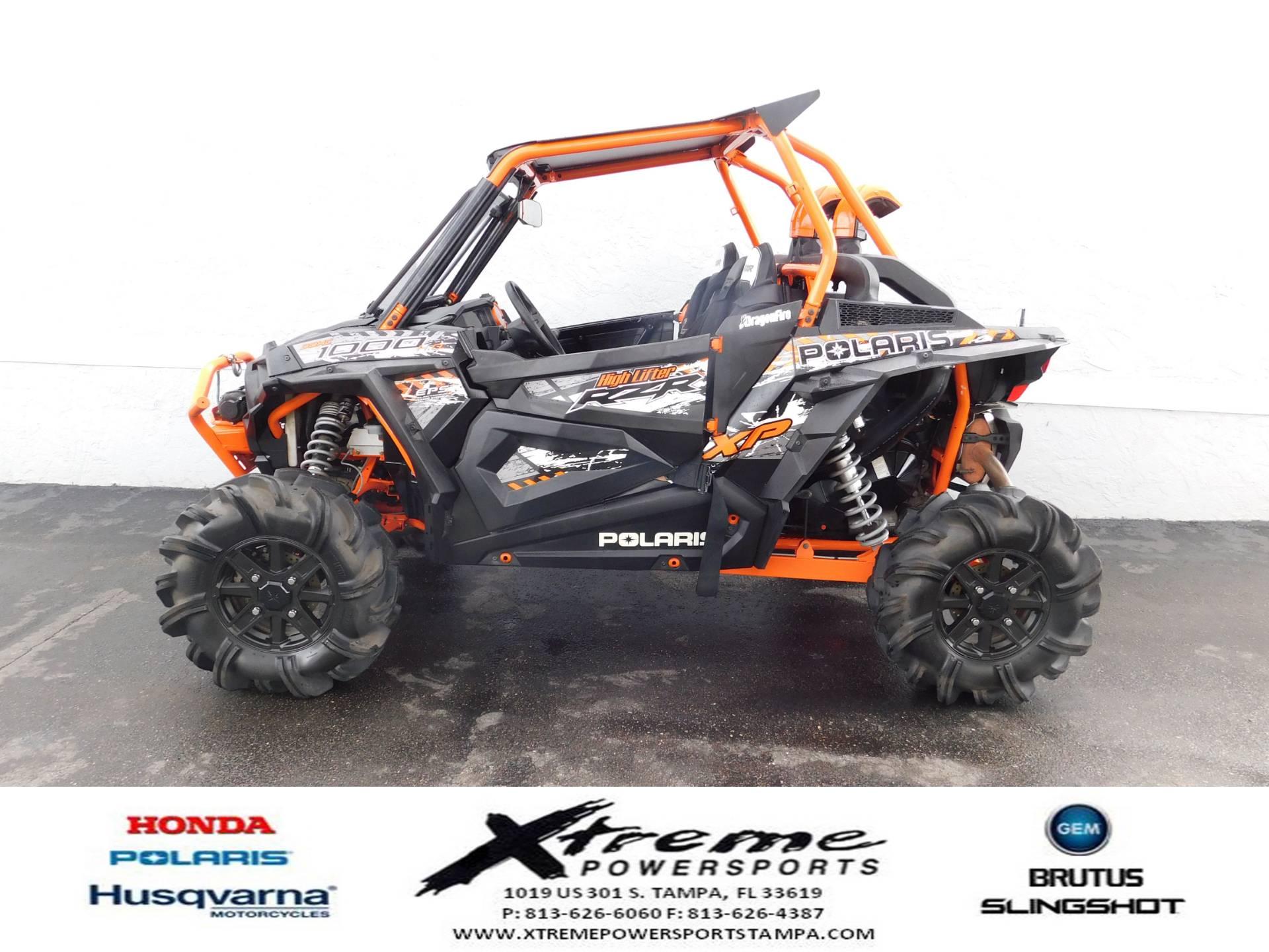2015 Polaris RZR XP 1000 EPS High Lifter Edition for sale 48880