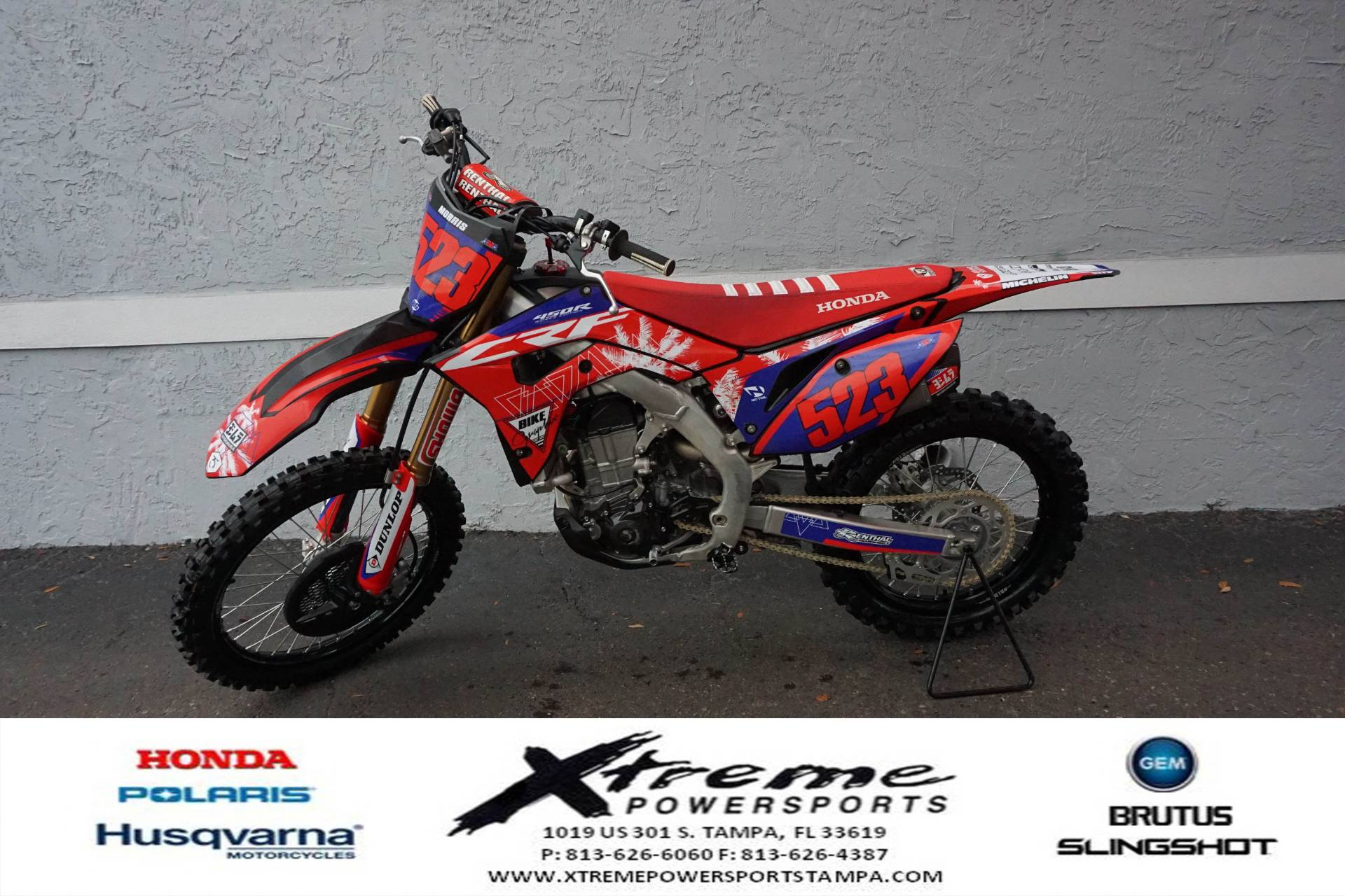 2020 Honda CRF450 WORKS EDITION in Tampa, Florida - Photo 1