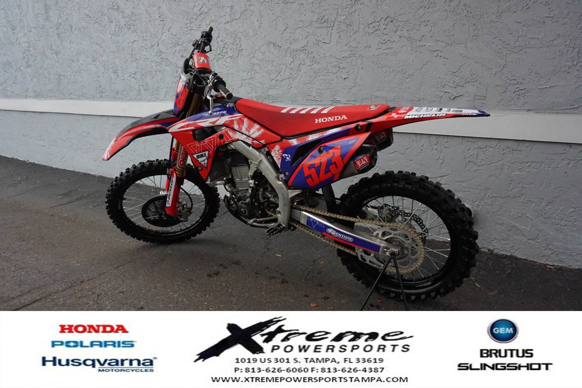 2020 Honda CRF450 WORKS EDITION in Tampa, Florida - Photo 3