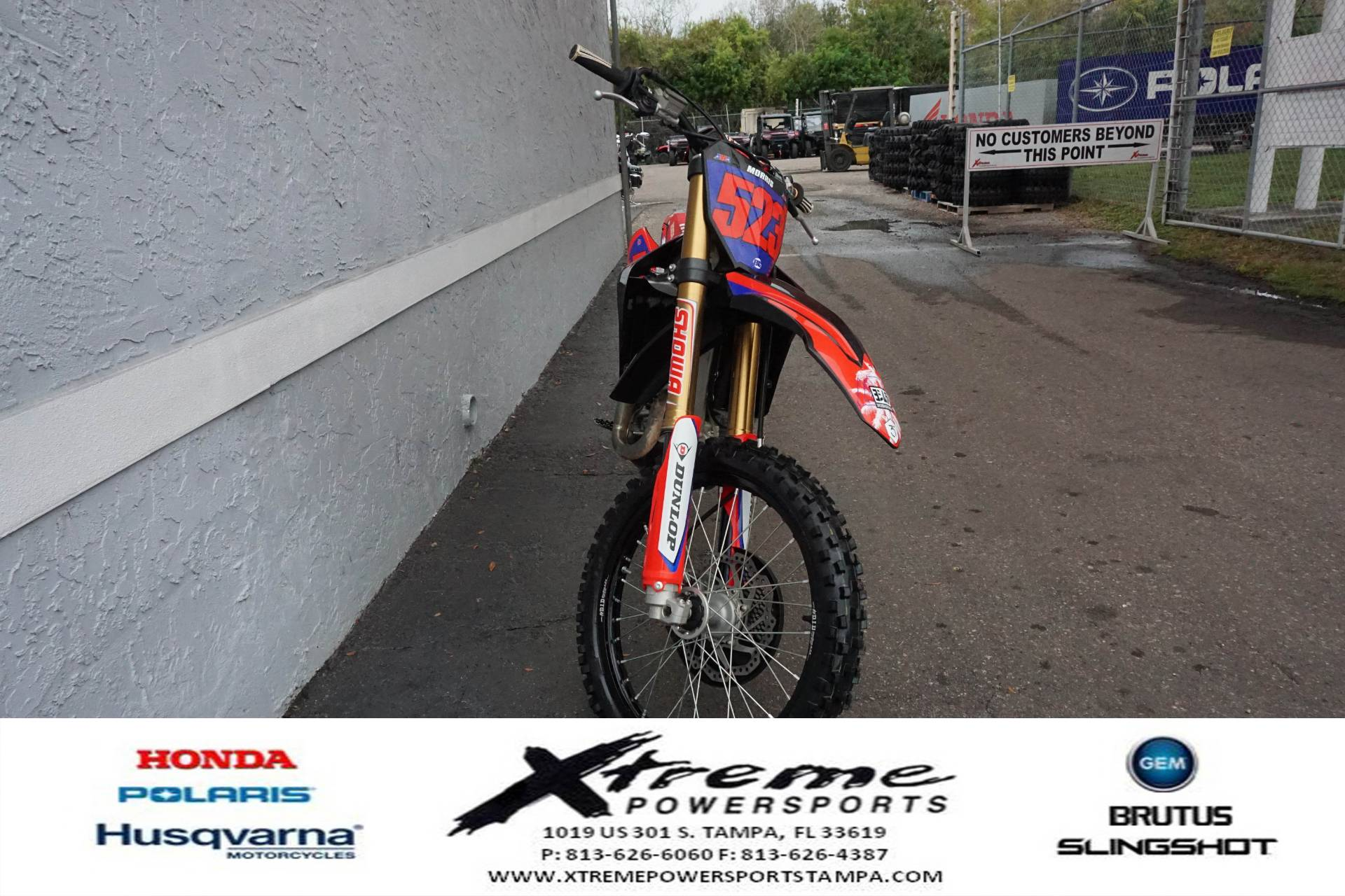 2020 Honda CRF450 WORKS EDITION in Tampa, Florida - Photo 5