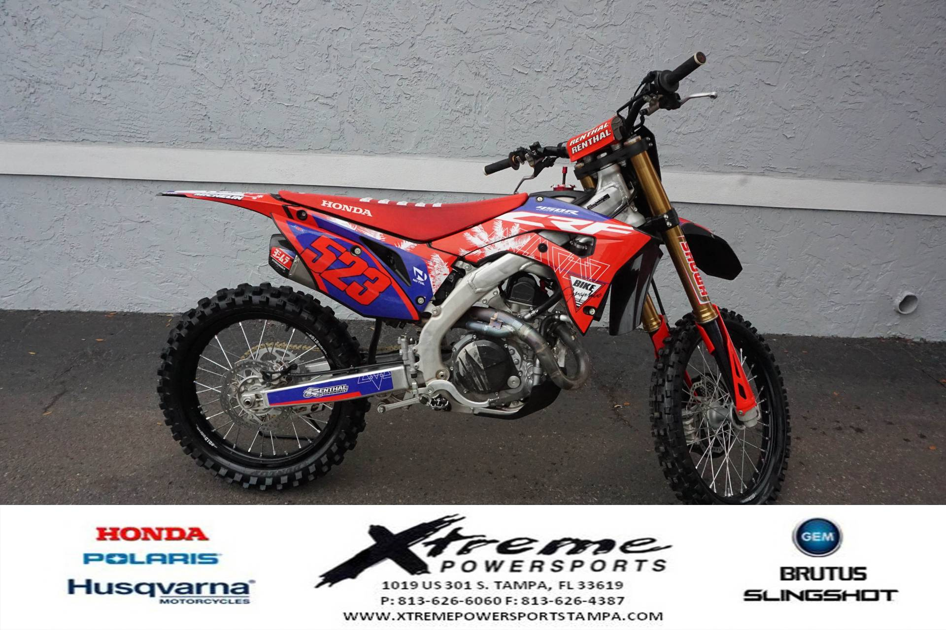 2020 Honda CRF450 WORKS EDITION in Tampa, Florida - Photo 6
