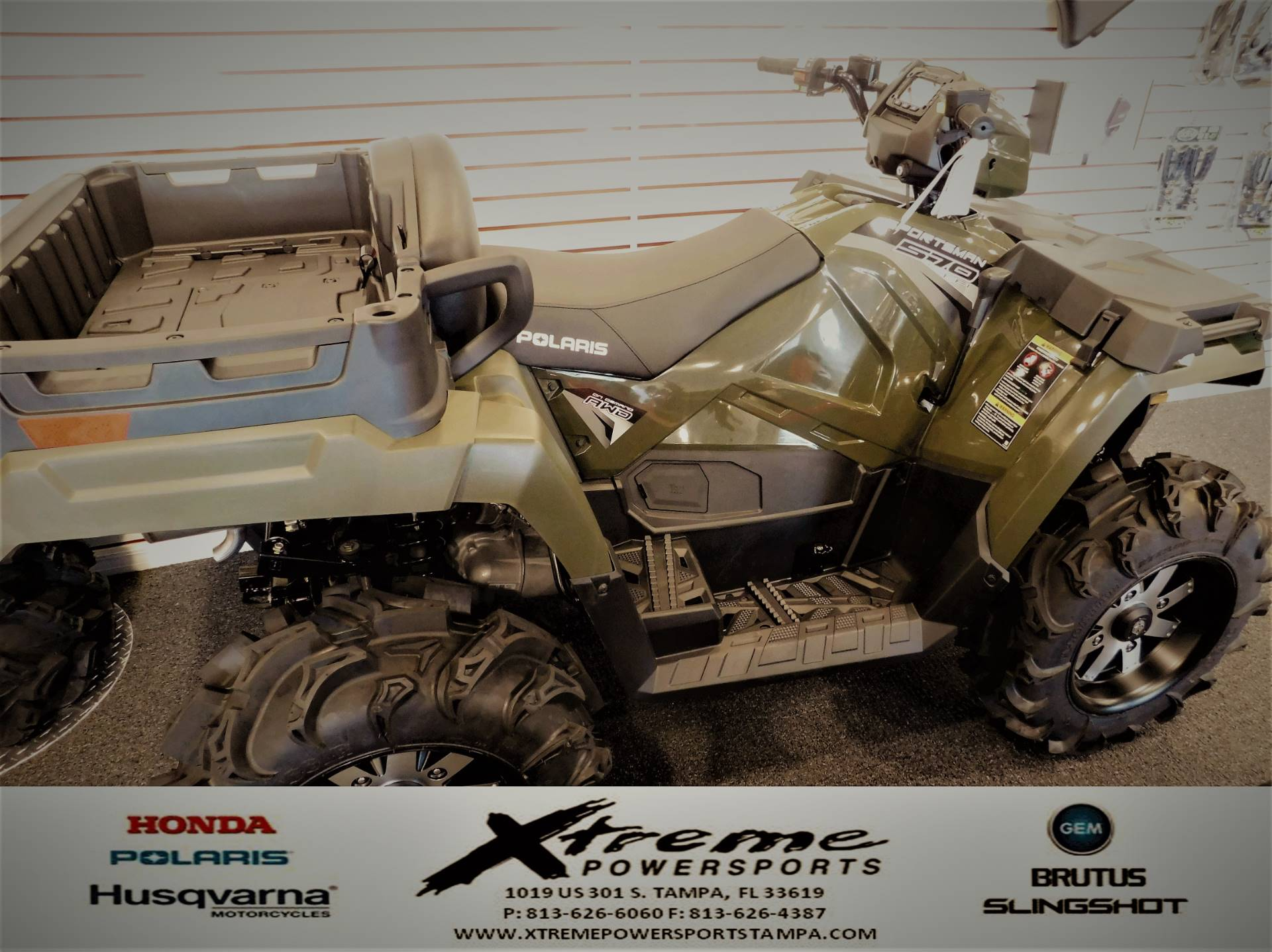 2019 Polaris SPORTSMAN 570 X2 in Tampa, Florida