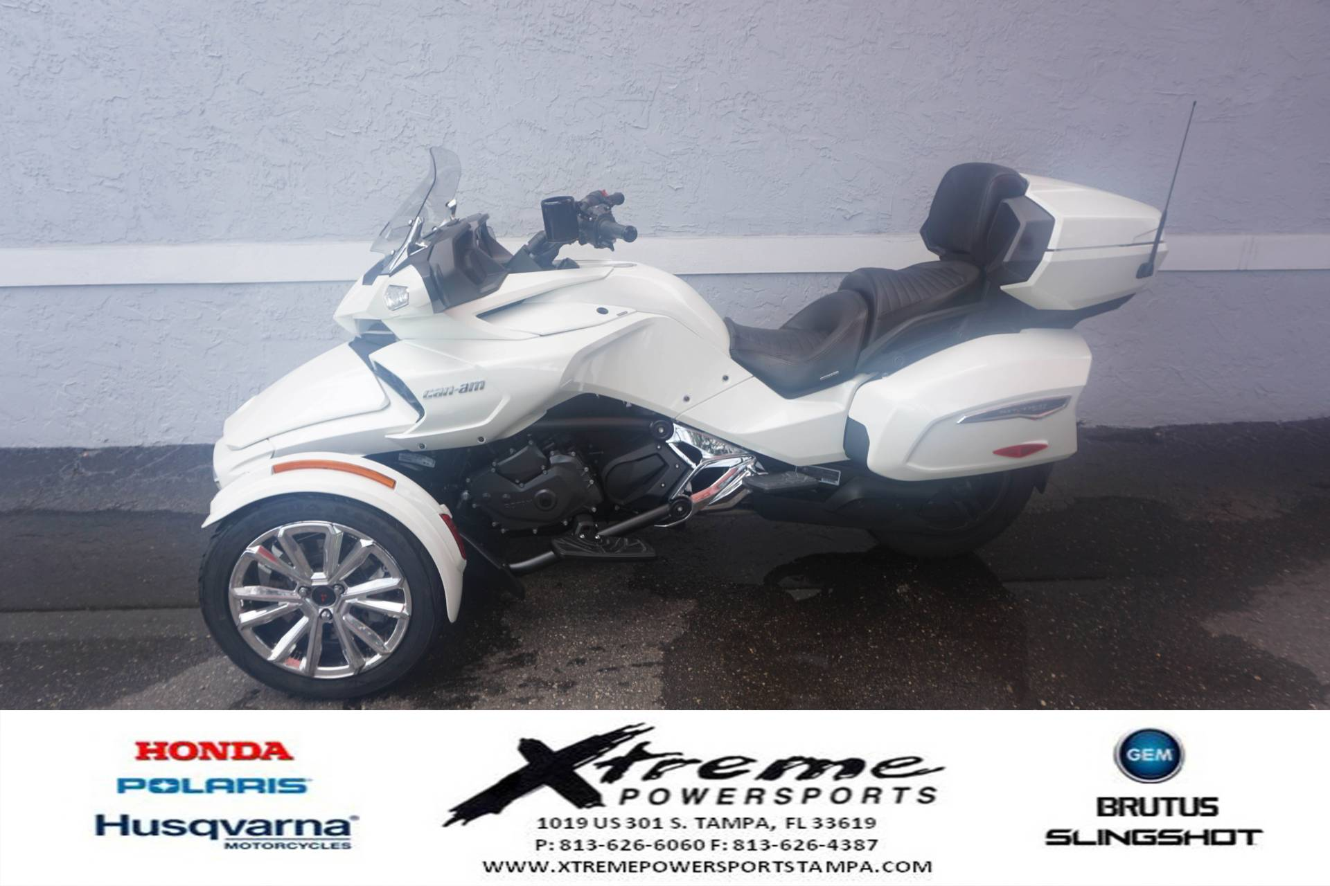 2017 Can-Am SPYDER F3 LIMITED SE6 in Tampa, Florida - Photo 2