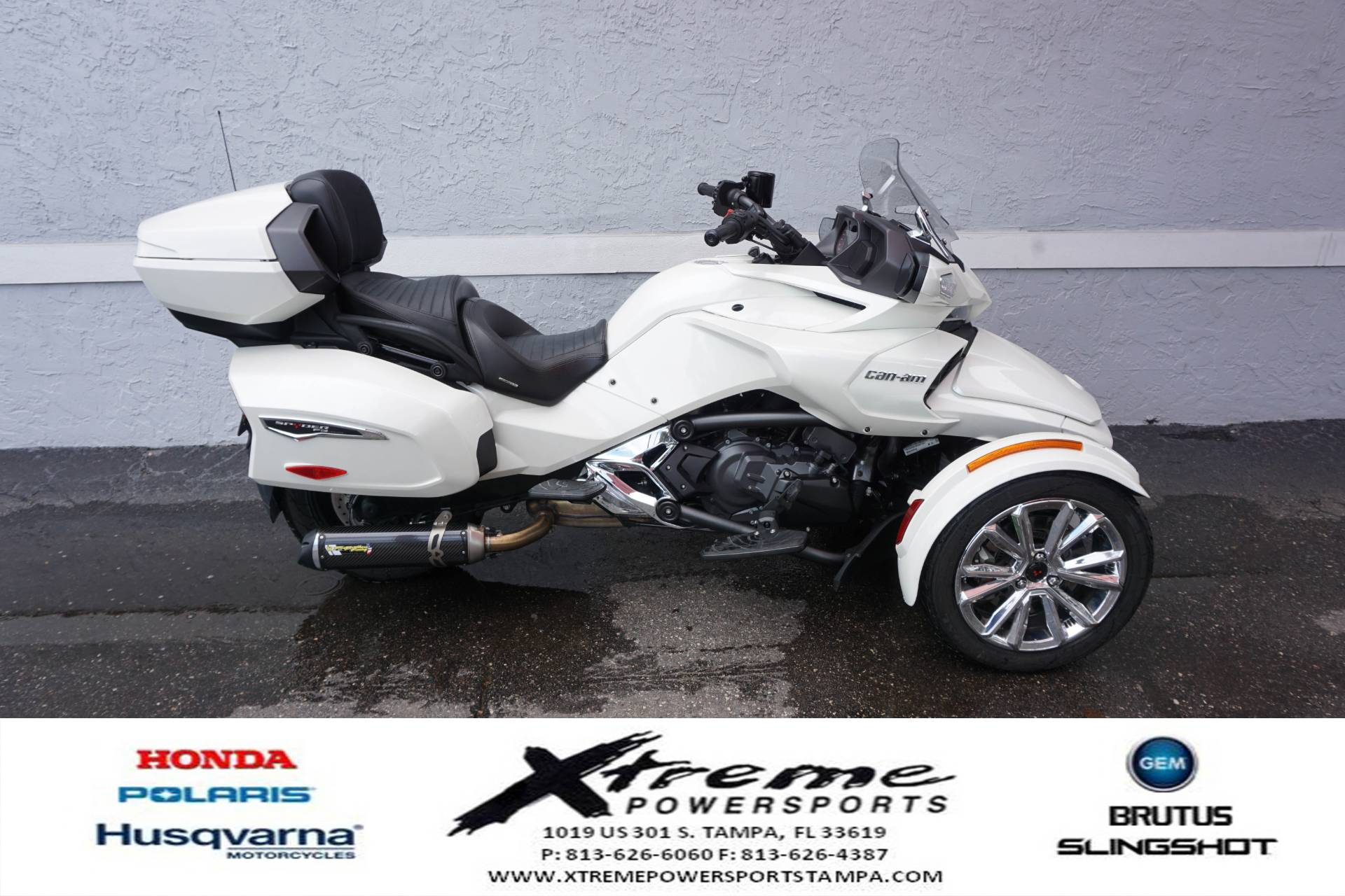 2017 Can-Am SPYDER F3 LIMITED SE6 in Tampa, Florida - Photo 1