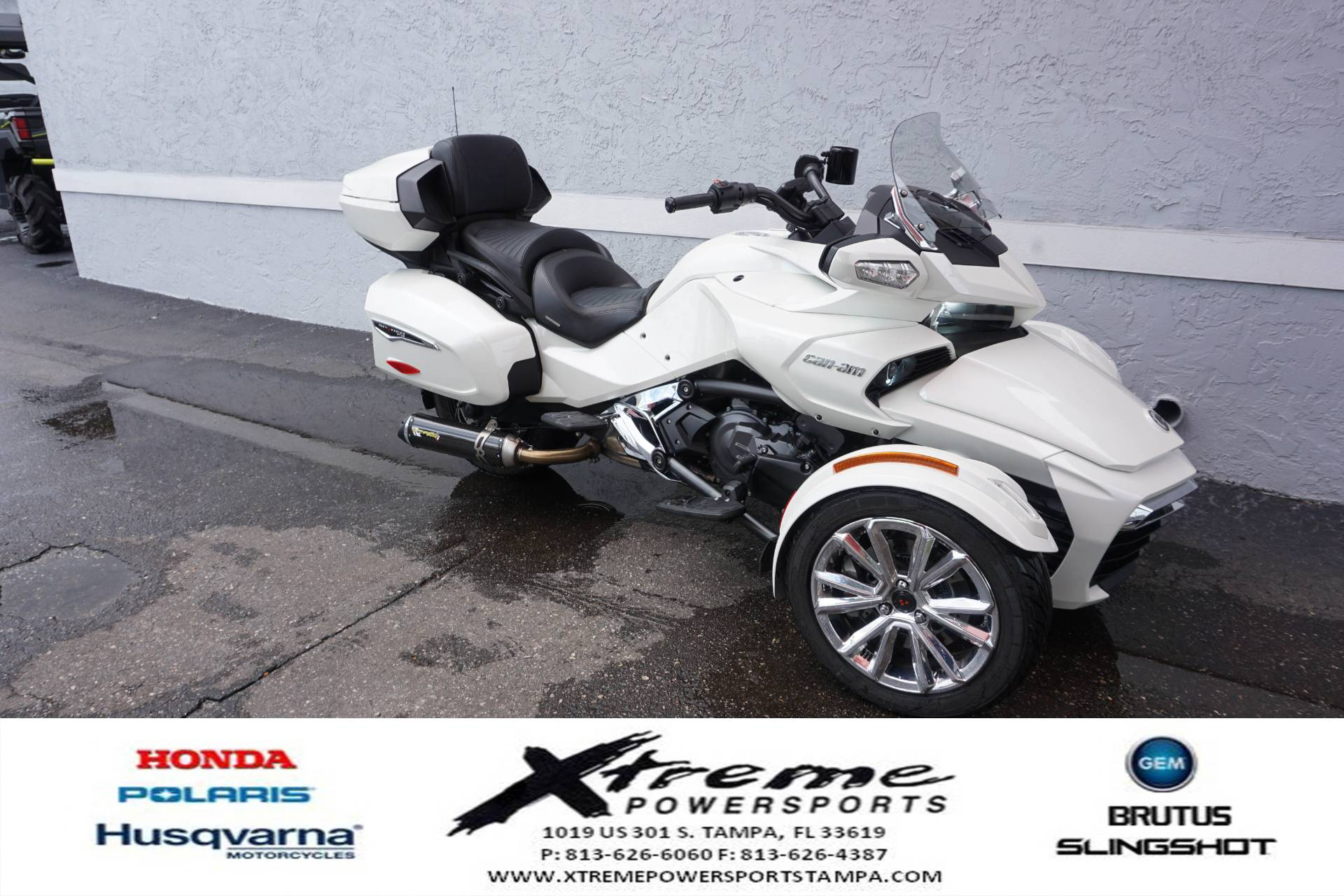 2017 Can-Am SPYDER F3 LIMITED SE6 in Tampa, Florida - Photo 8