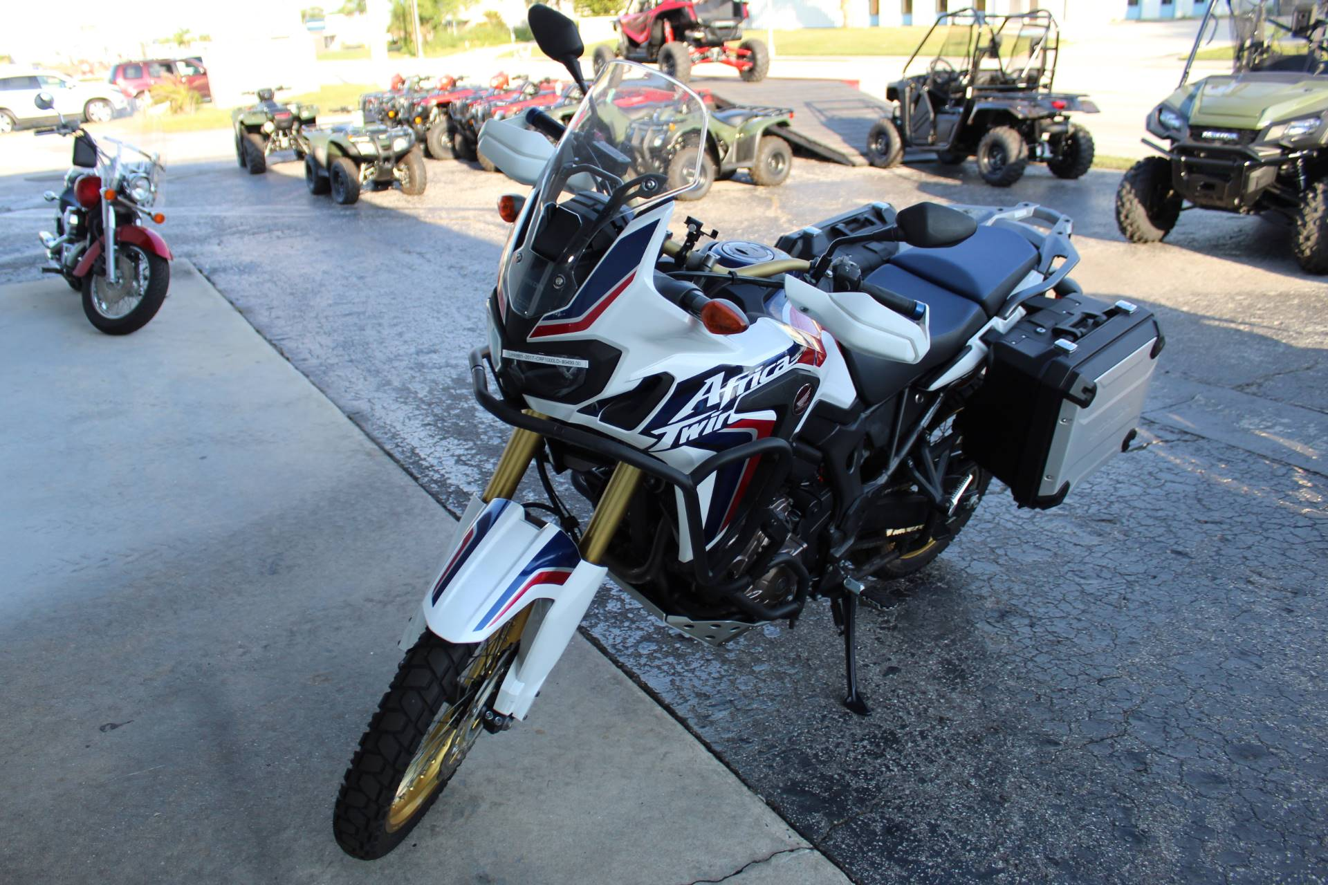 2017 Honda Africa Twin DCT in Sarasota, Florida - Photo 3