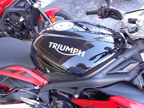 2016 Triumph Street Triple Rx ABS in Sarasota, Florida