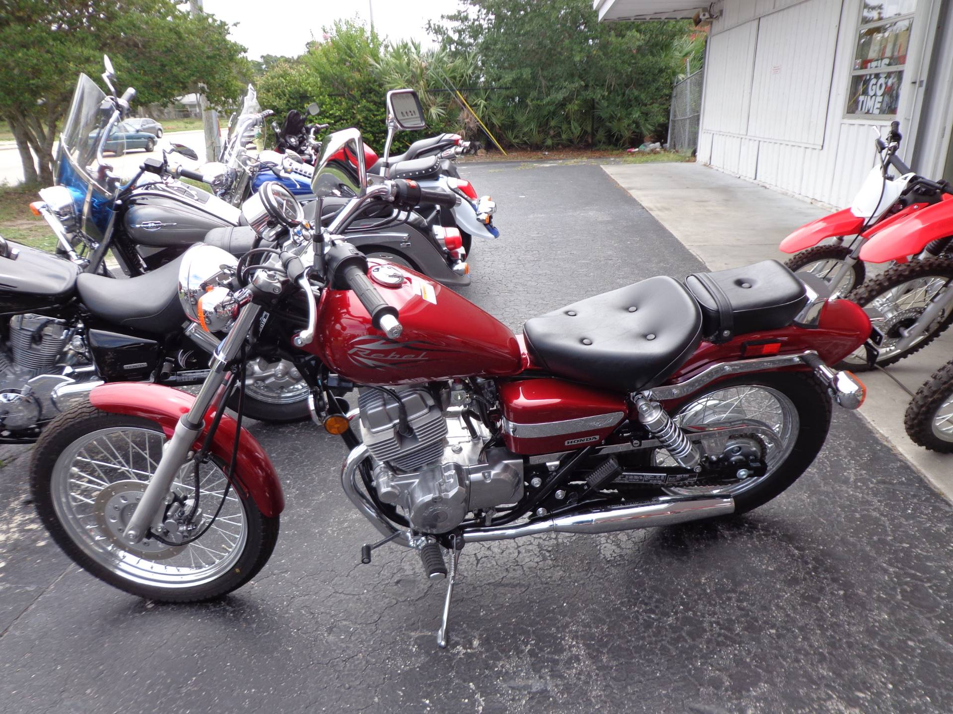 2016 Honda Rebel Motorcycles Sarasota Florida