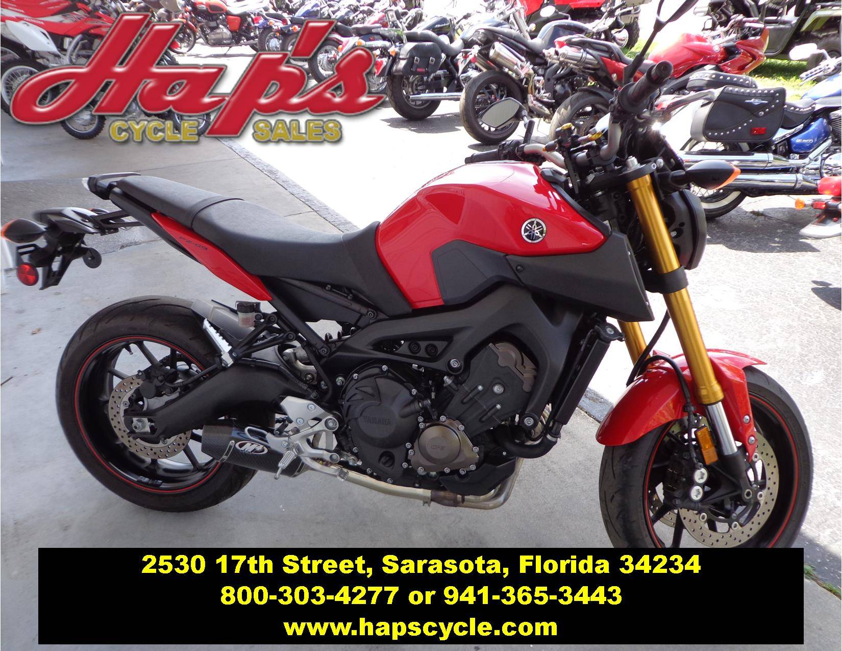 2014 Yamaha FZ-09 for sale 3959