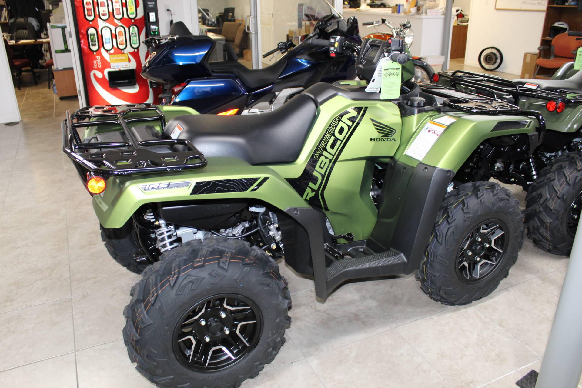 2020 Honda FourTrax Foreman Rubicon 4x4 Automatic DCT EPS Deluxe in Sarasota, Florida - Photo 1