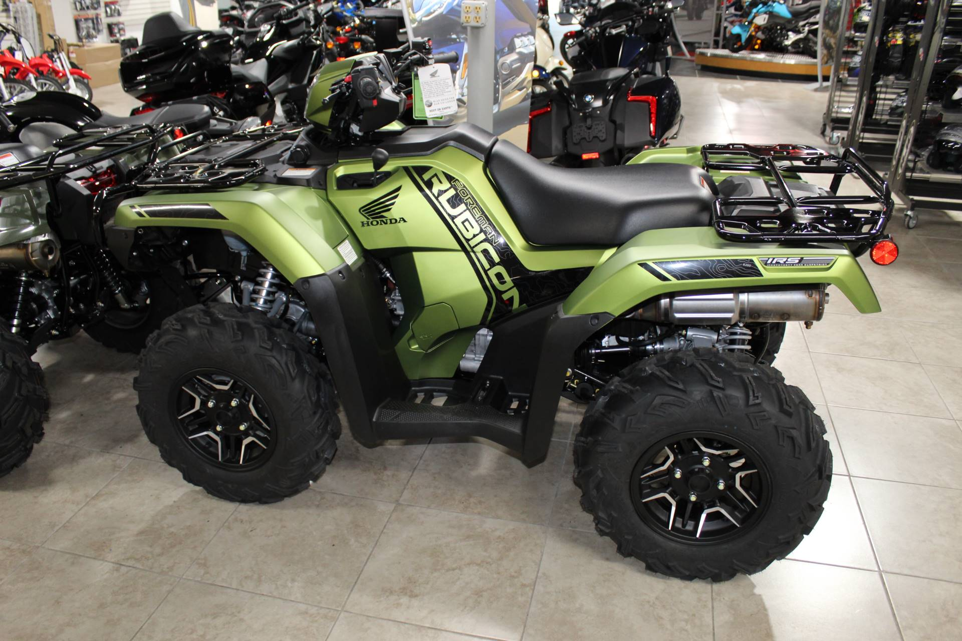 2020 Honda FourTrax Foreman Rubicon 4x4 Automatic DCT EPS Deluxe in Sarasota, Florida - Photo 3