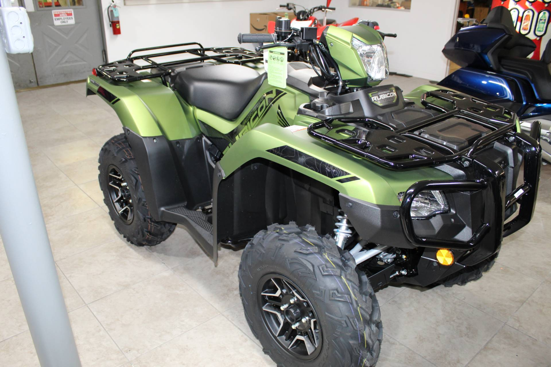 2020 Honda FourTrax Foreman Rubicon 4x4 Automatic DCT EPS Deluxe in Sarasota, Florida - Photo 5