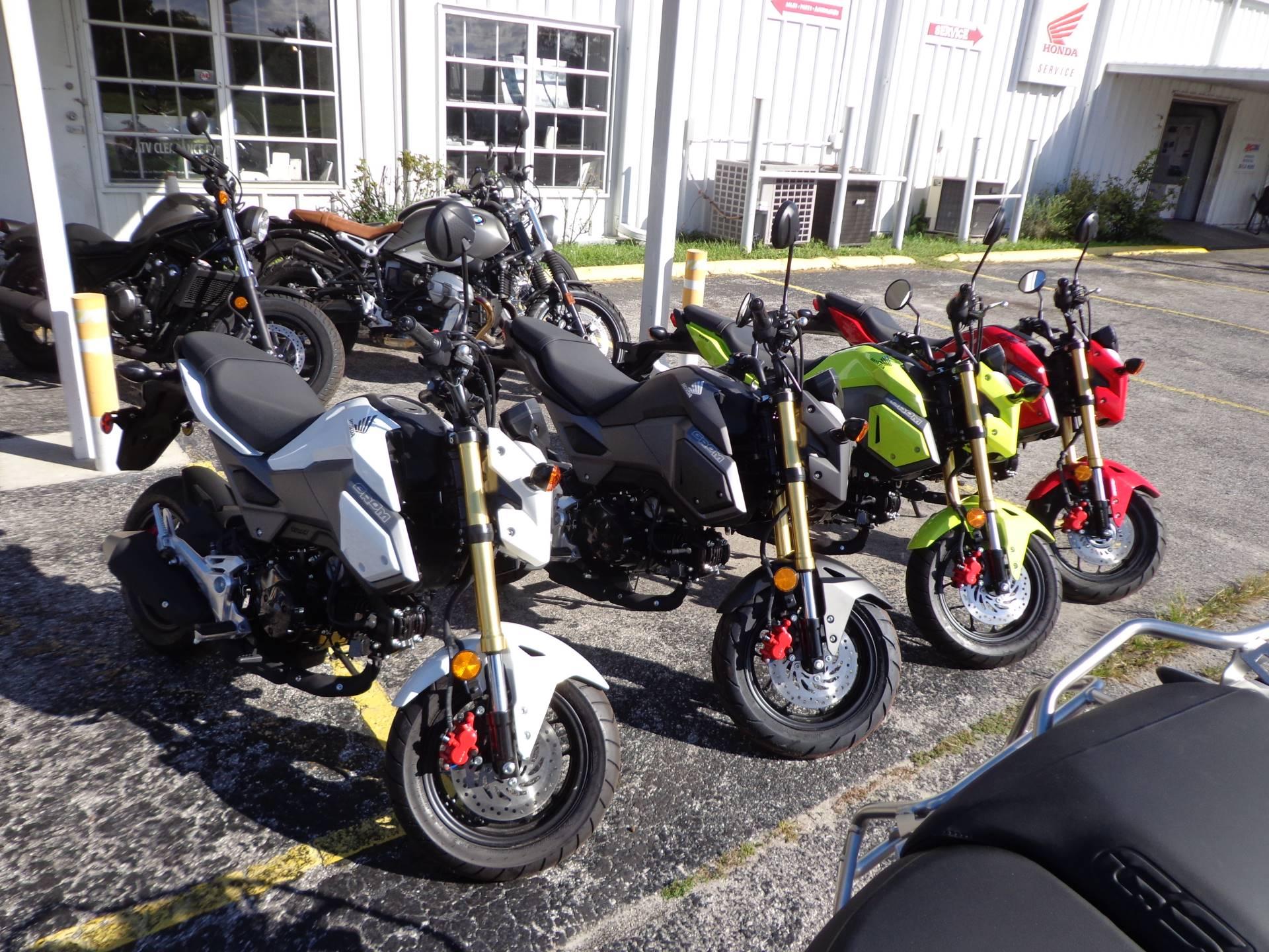 2018 Honda Grom Motorcycles Sarasota Florida