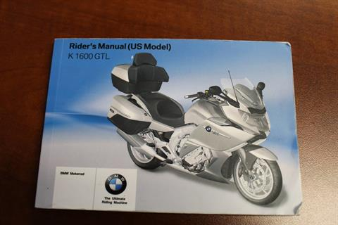 2013 BMW K 1600 GTL in Sarasota, Florida - Photo 34