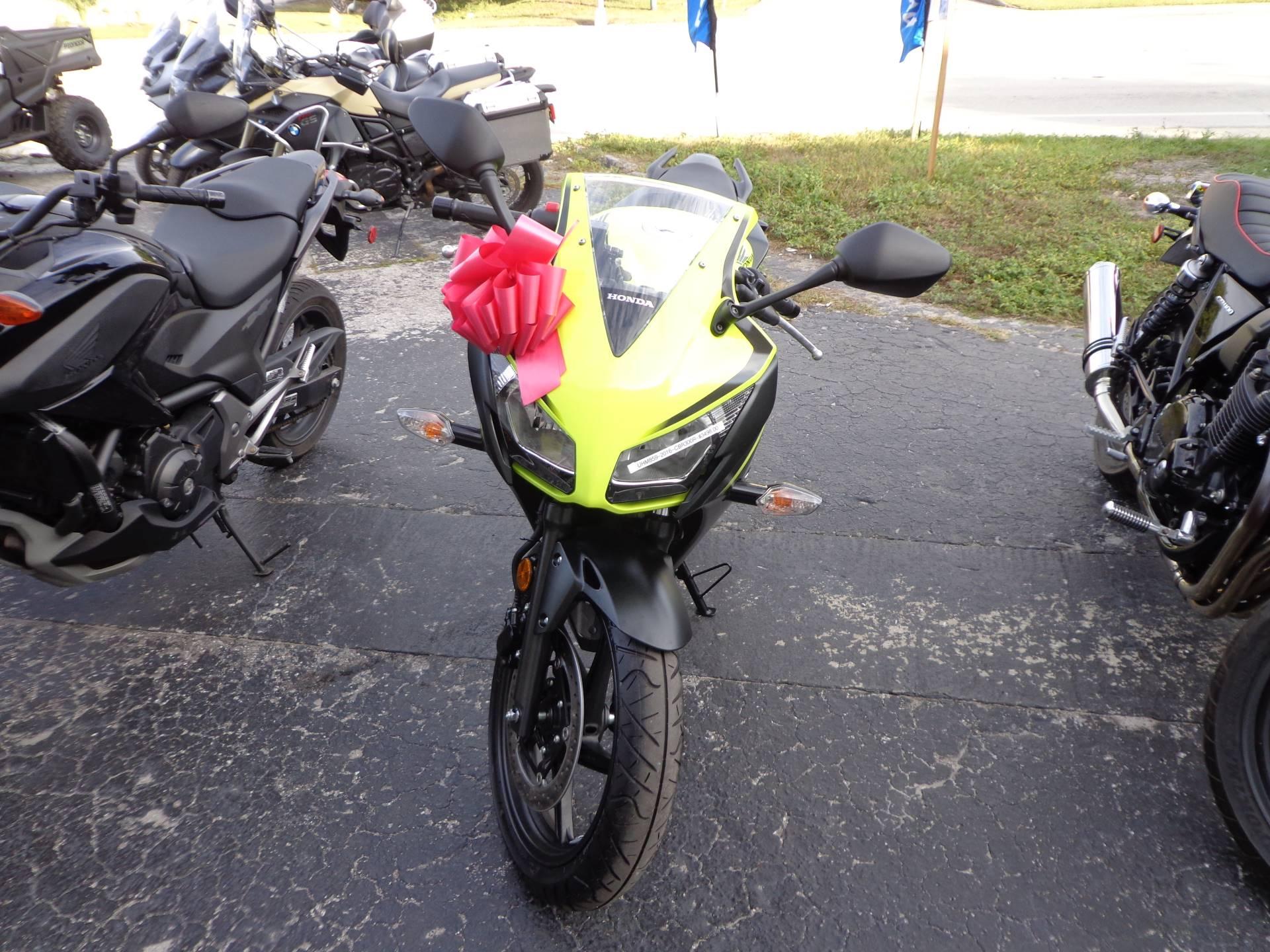 2016 Honda CBR300R 2