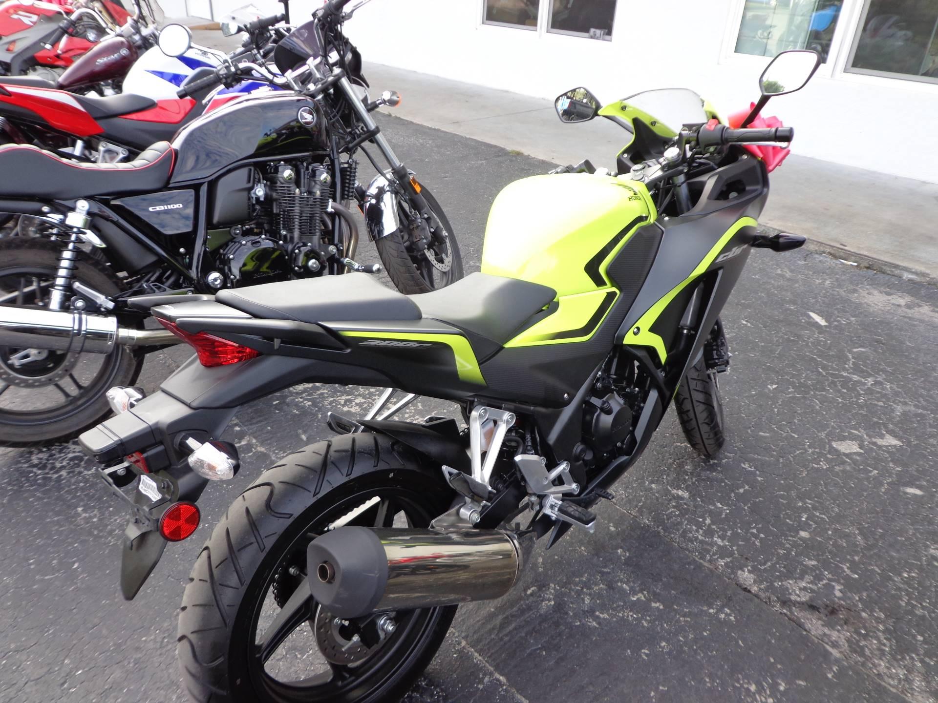 2016 Honda CBR300R 5