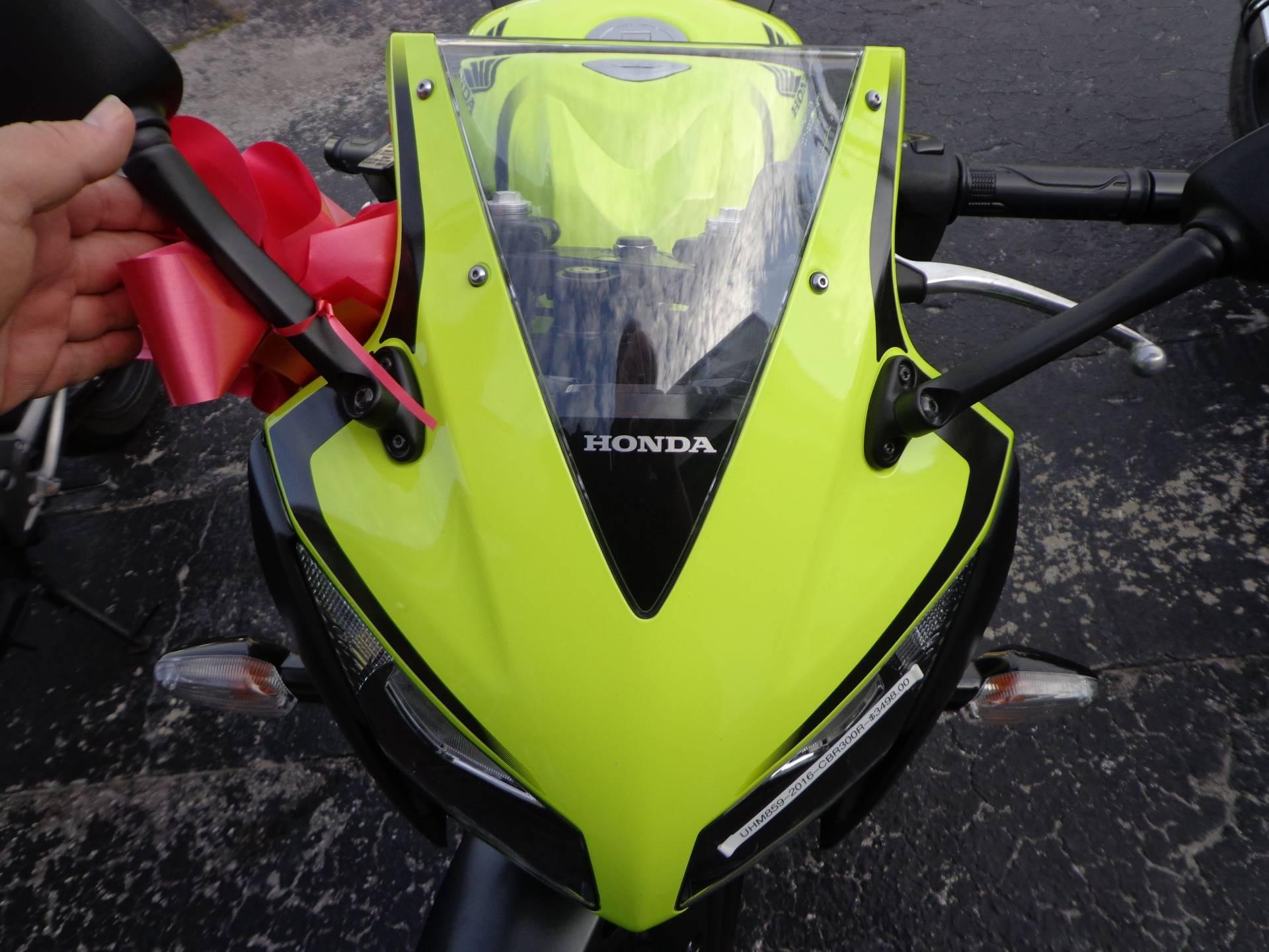 2016 Honda CBR300R 8