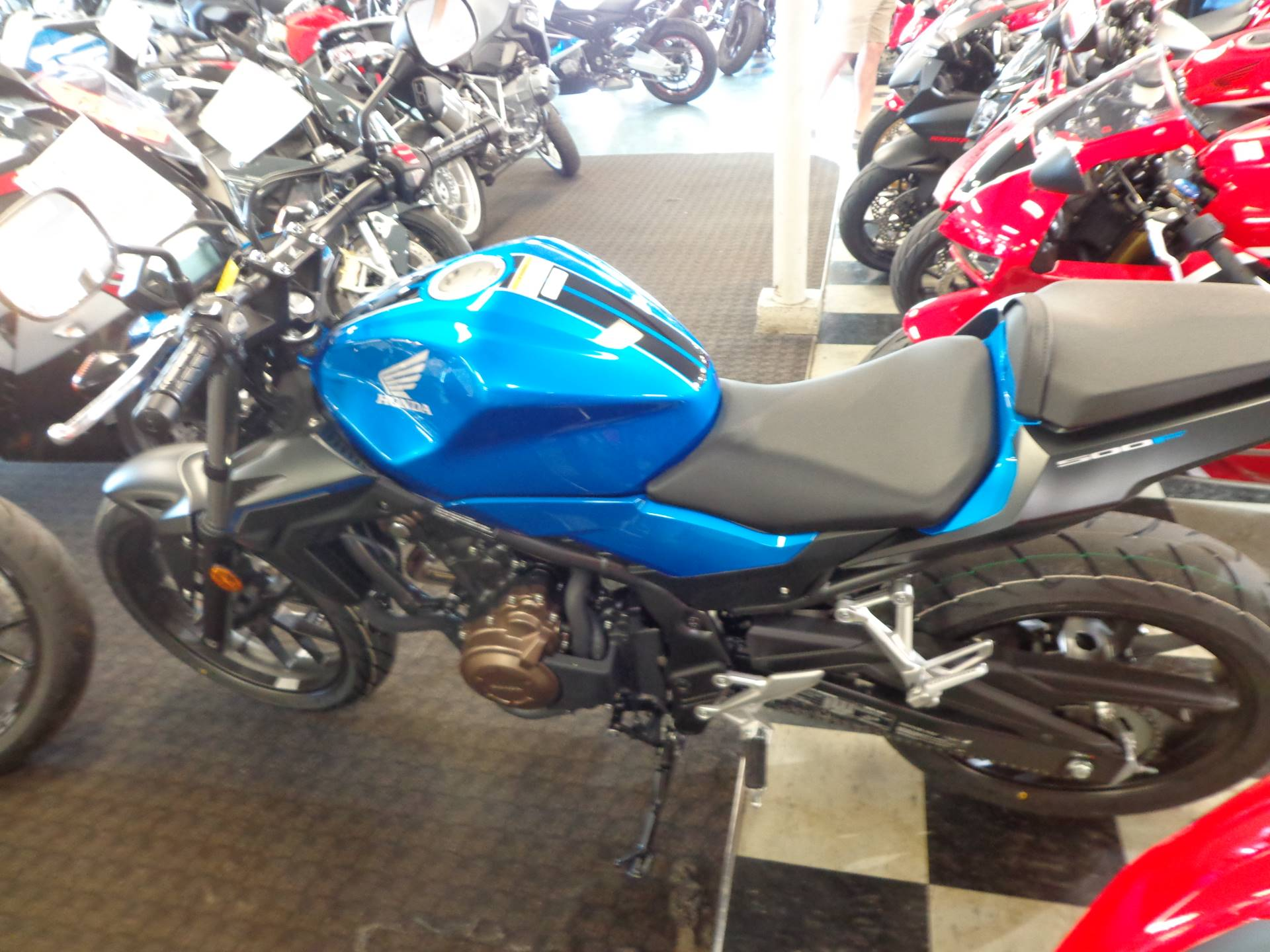2018 Honda CB500F ABS in Sarasota, Florida