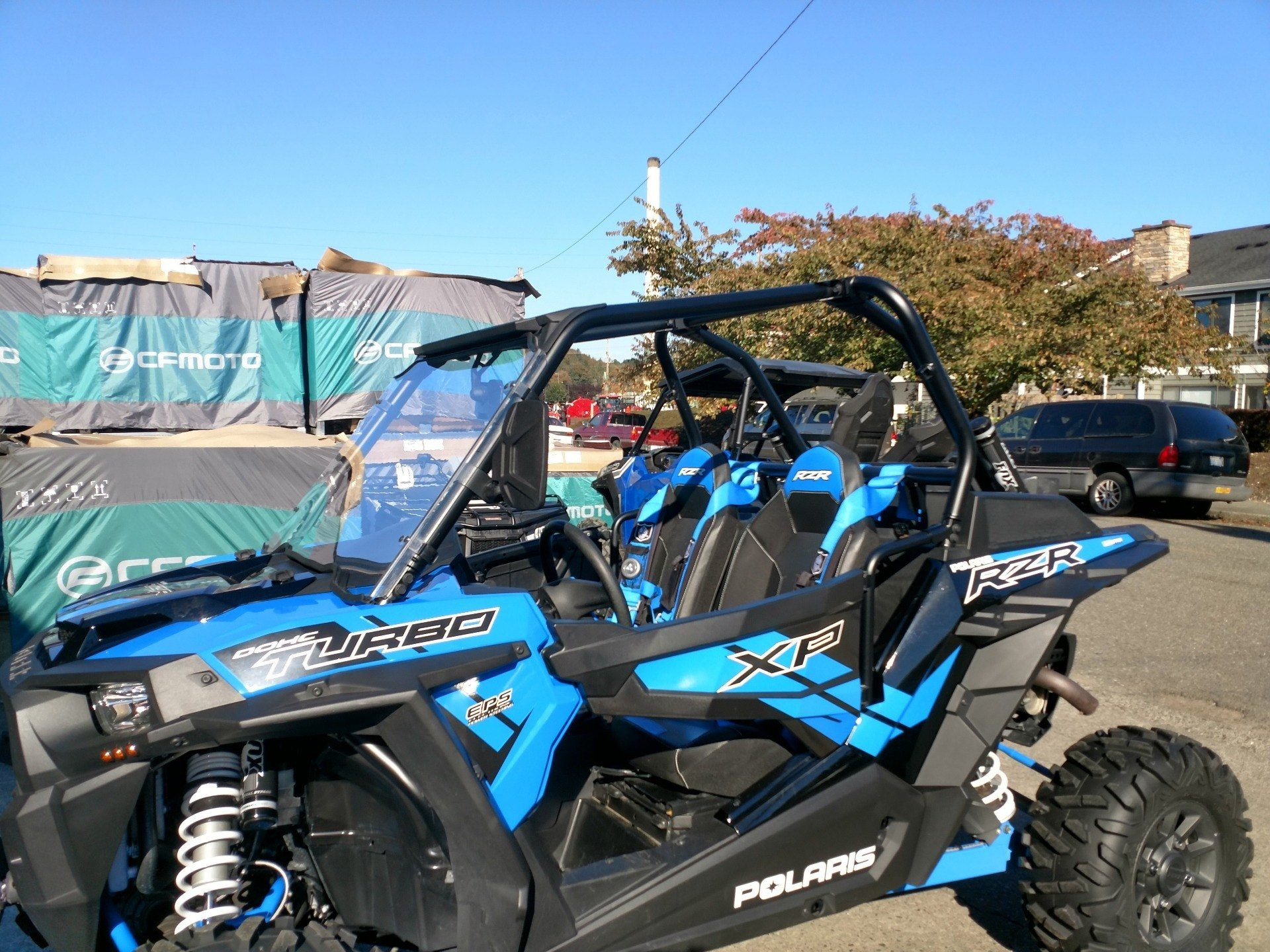 2017 Polaris RZR XP Turbo EPS in Monroe, Washington