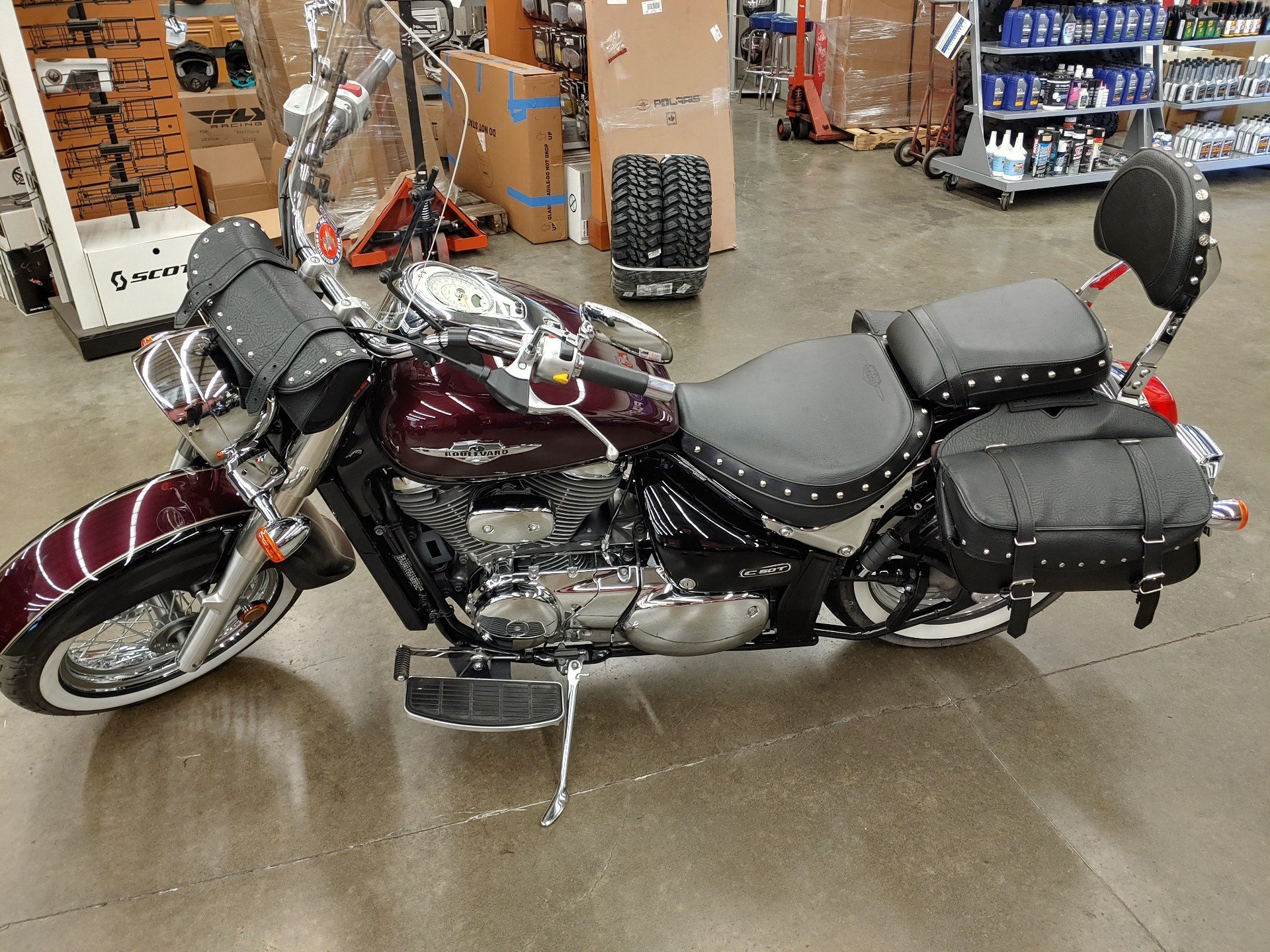 2012 Suzuki Boulevard C50T Classic in Monroe, Washington - Photo 2