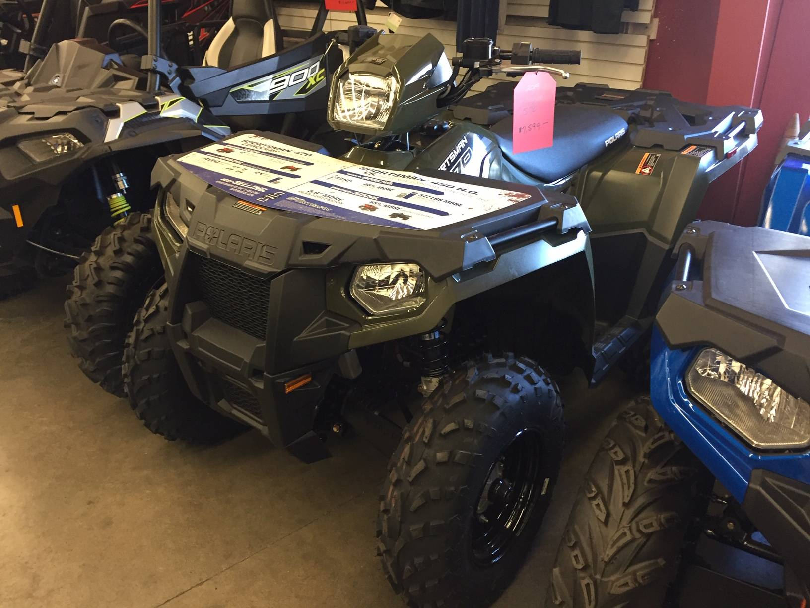 2020 Polaris Sportsman 570 EPS in Monroe, Washington - Photo 1