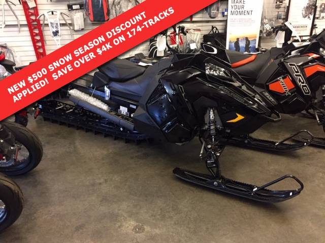 2019 Polaris 800 PRO-RMK 174 SnowCheck Select 3.0 in Monroe, Washington - Photo 1