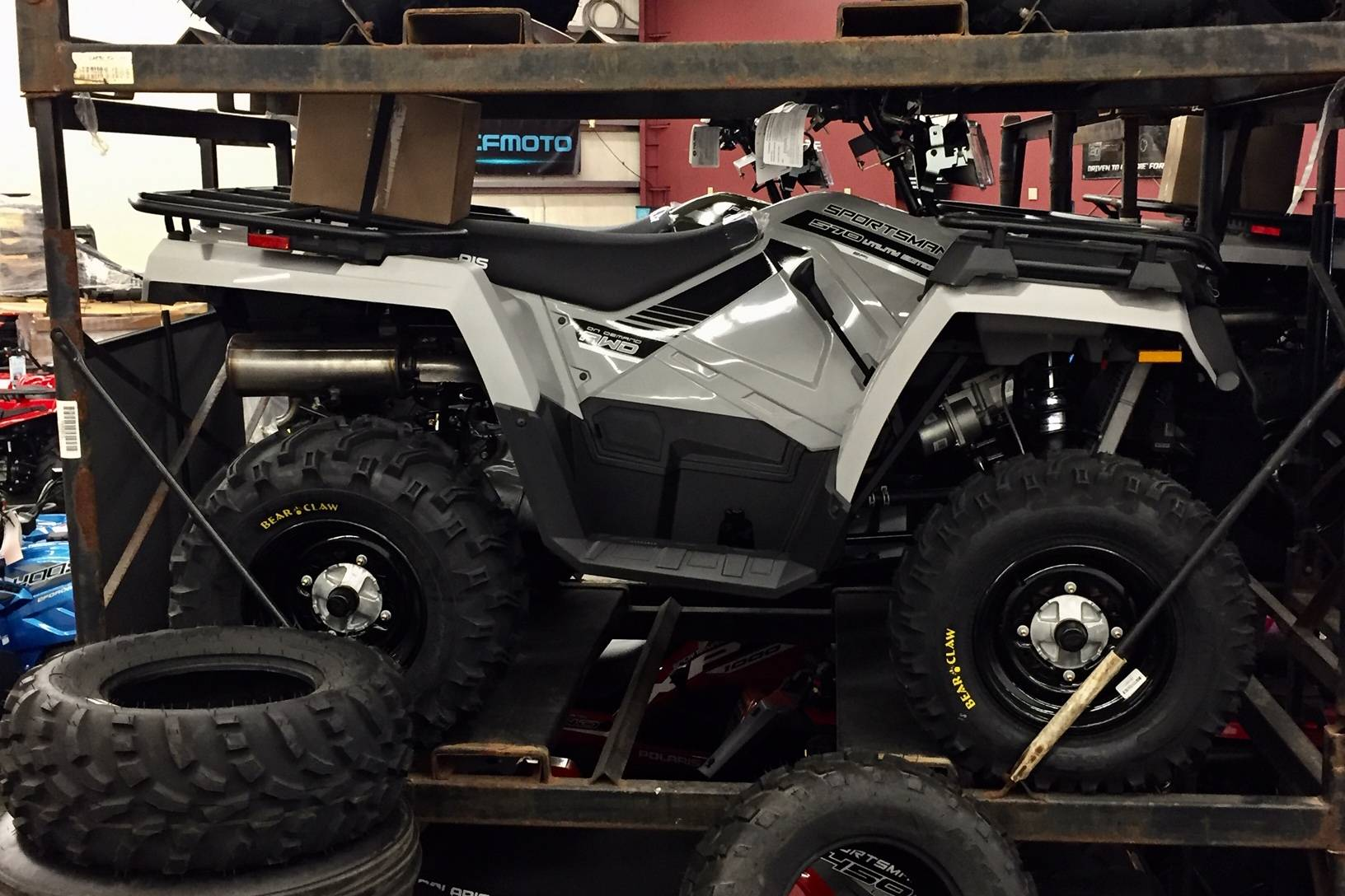 2019 Polaris Sportsman 570 EPS Utility Edition in Monroe, Washington