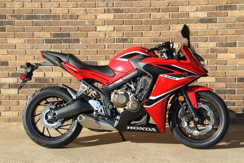 2018 Honda CBR650F ABS in Hendersonville, North Carolina