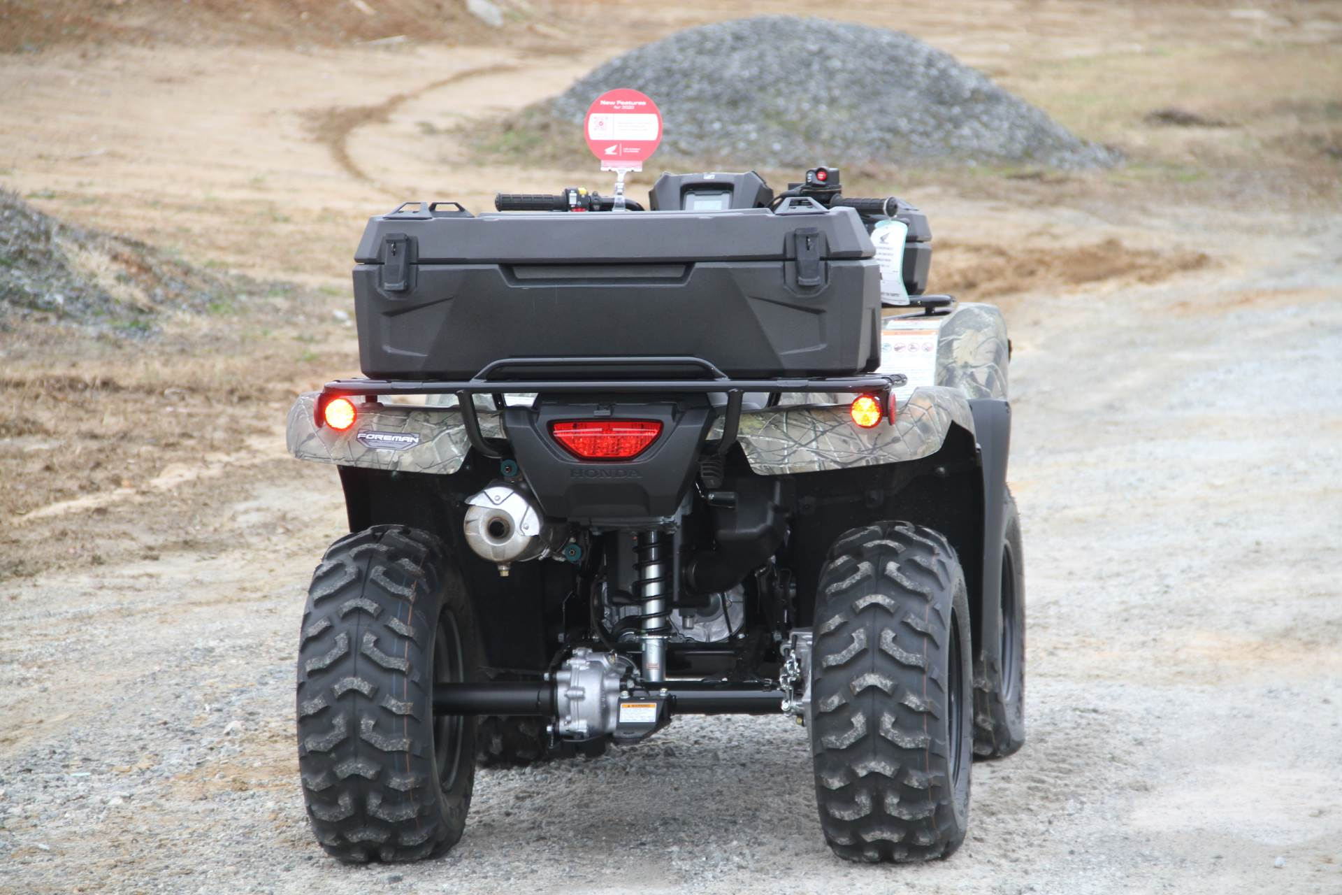 2020 Honda FourTrax Foreman 4x4 EPS in Hendersonville, North Carolina - Photo 14