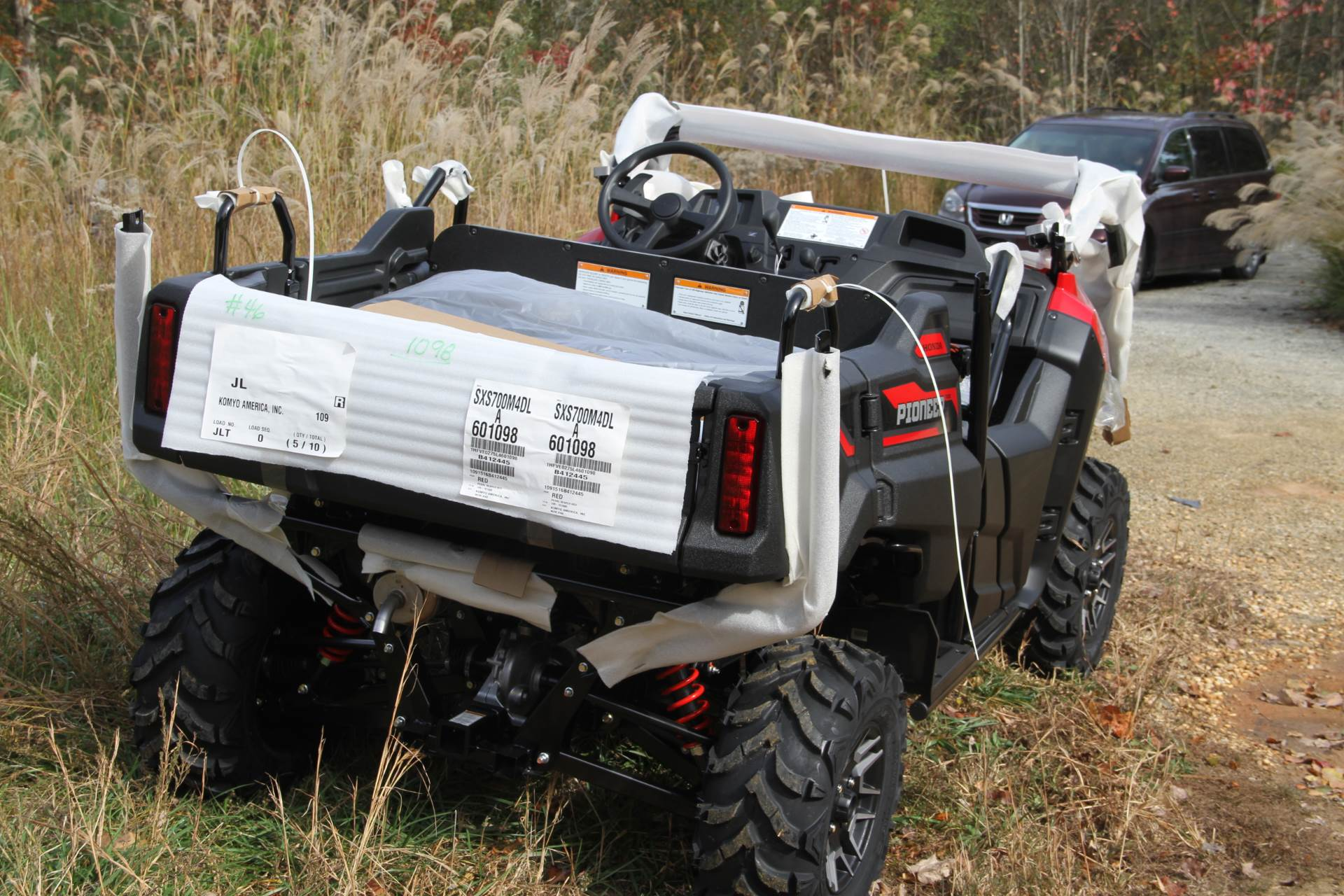 2020 Honda Pioneer 700-4 Deluxe in Hendersonville, North Carolina - Photo 17