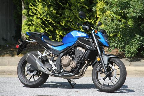 2018 Honda CB500F in Hendersonville, North Carolina - Photo 5