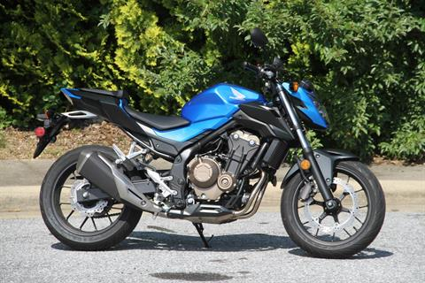 2018 Honda CB500F in Hendersonville, North Carolina - Photo 1