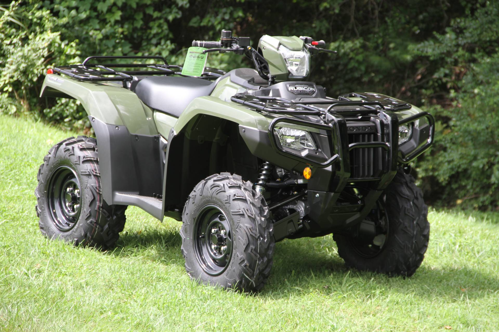 2021 Honda FourTrax Foreman Rubicon 4x4 Automatic DCT in Hendersonville, North Carolina - Photo 14