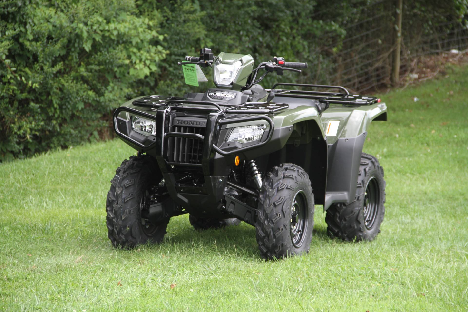 2021 Honda FourTrax Foreman Rubicon 4x4 Automatic DCT in Hendersonville, North Carolina - Photo 28