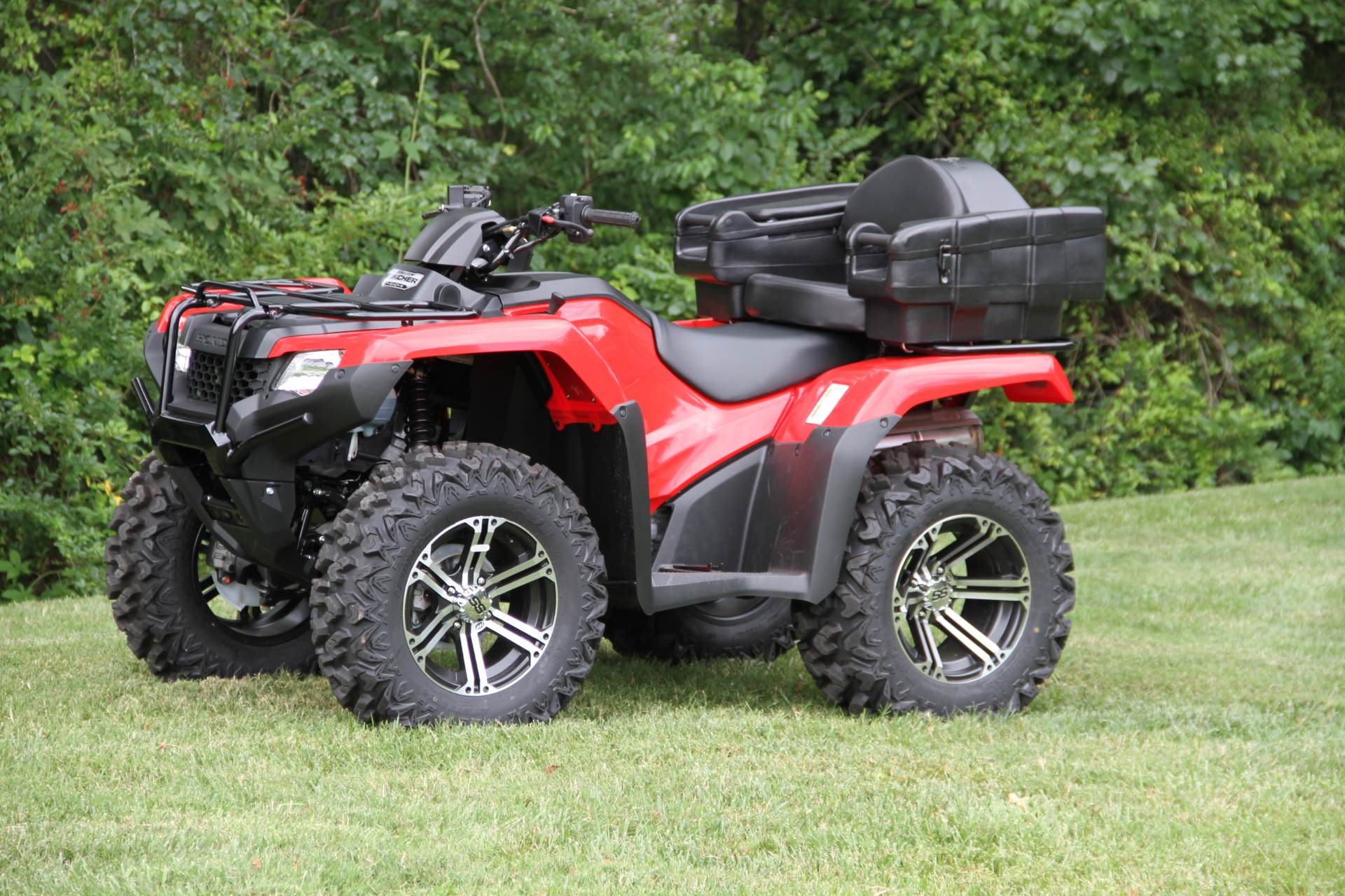 2017 Honda FourTrax Rancher 4x4 DCT EPS in Hendersonville, North Carolina