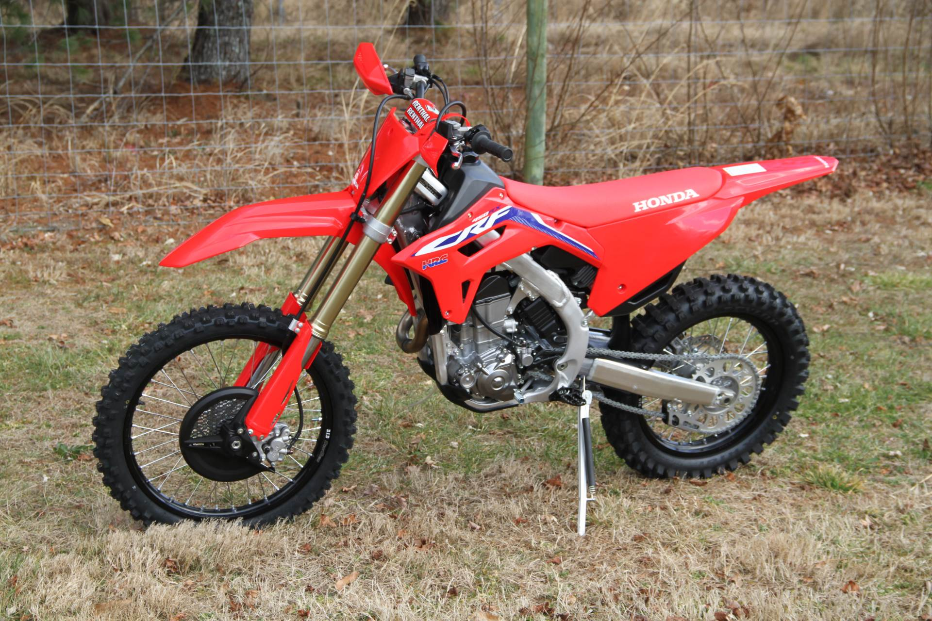 2021 Honda CRF450RX in Hendersonville, North Carolina - Photo 1